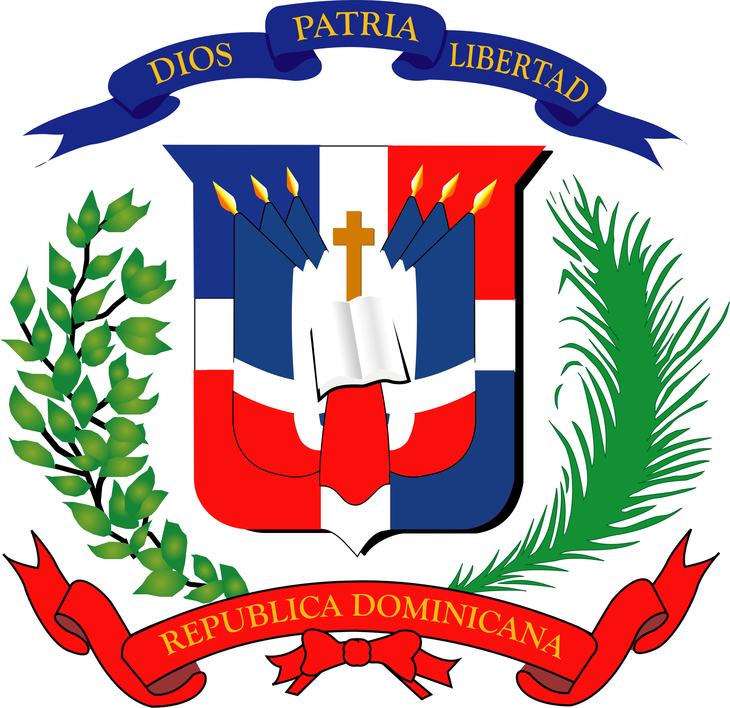 Escudo Nacional Dominicano by capellan2000