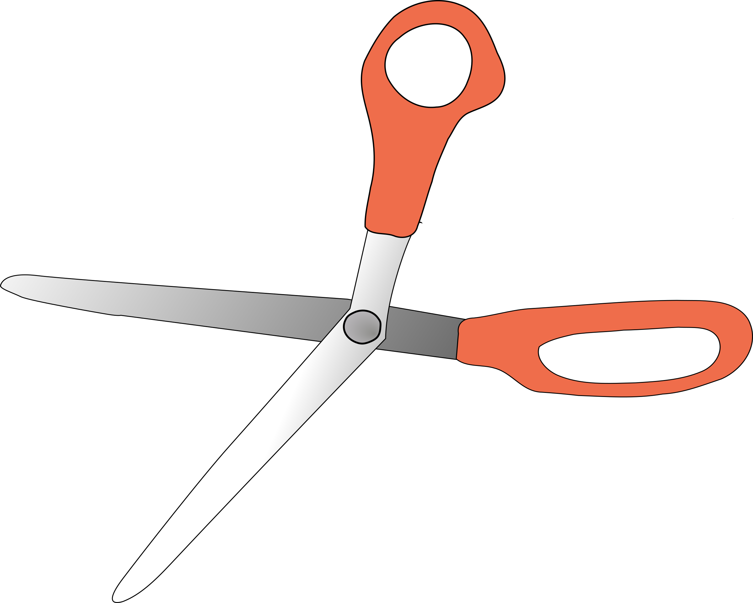 scissors wide open by TheresaKnott