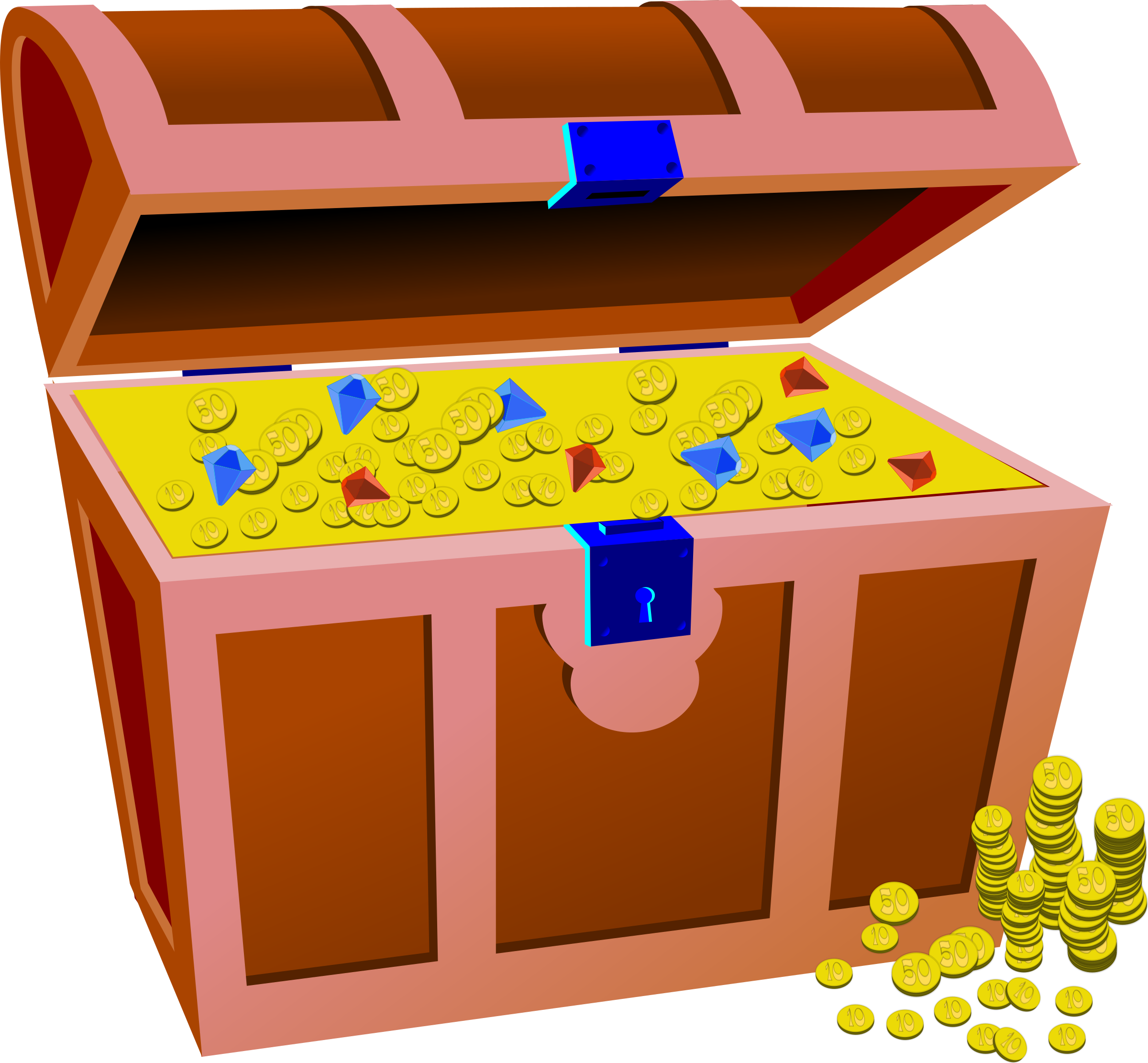 Full Treasure Chest by hextrust