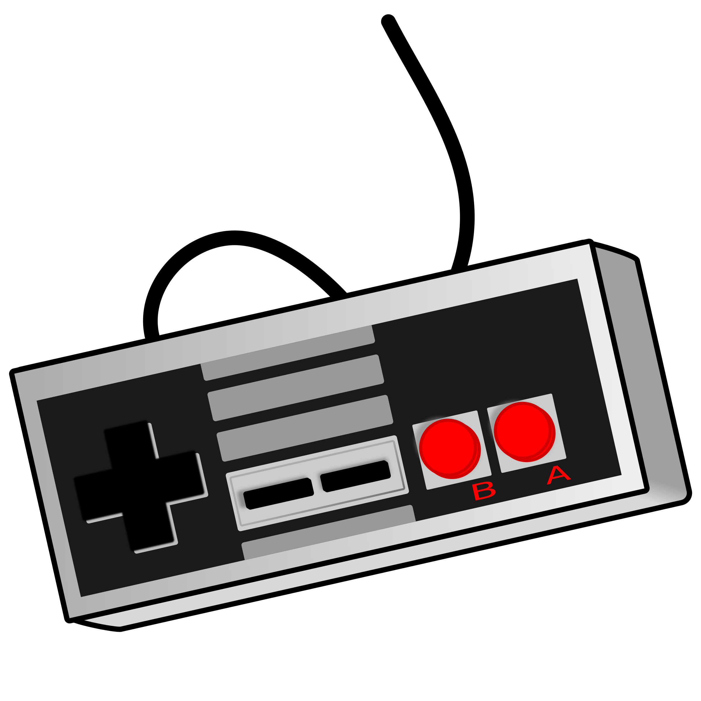 Clipart - Old School Game Controller