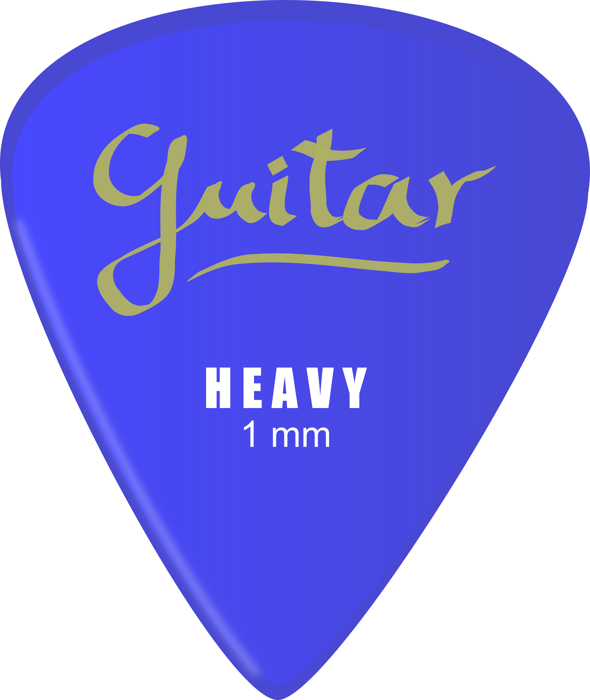 Guitar pick by J_Alves