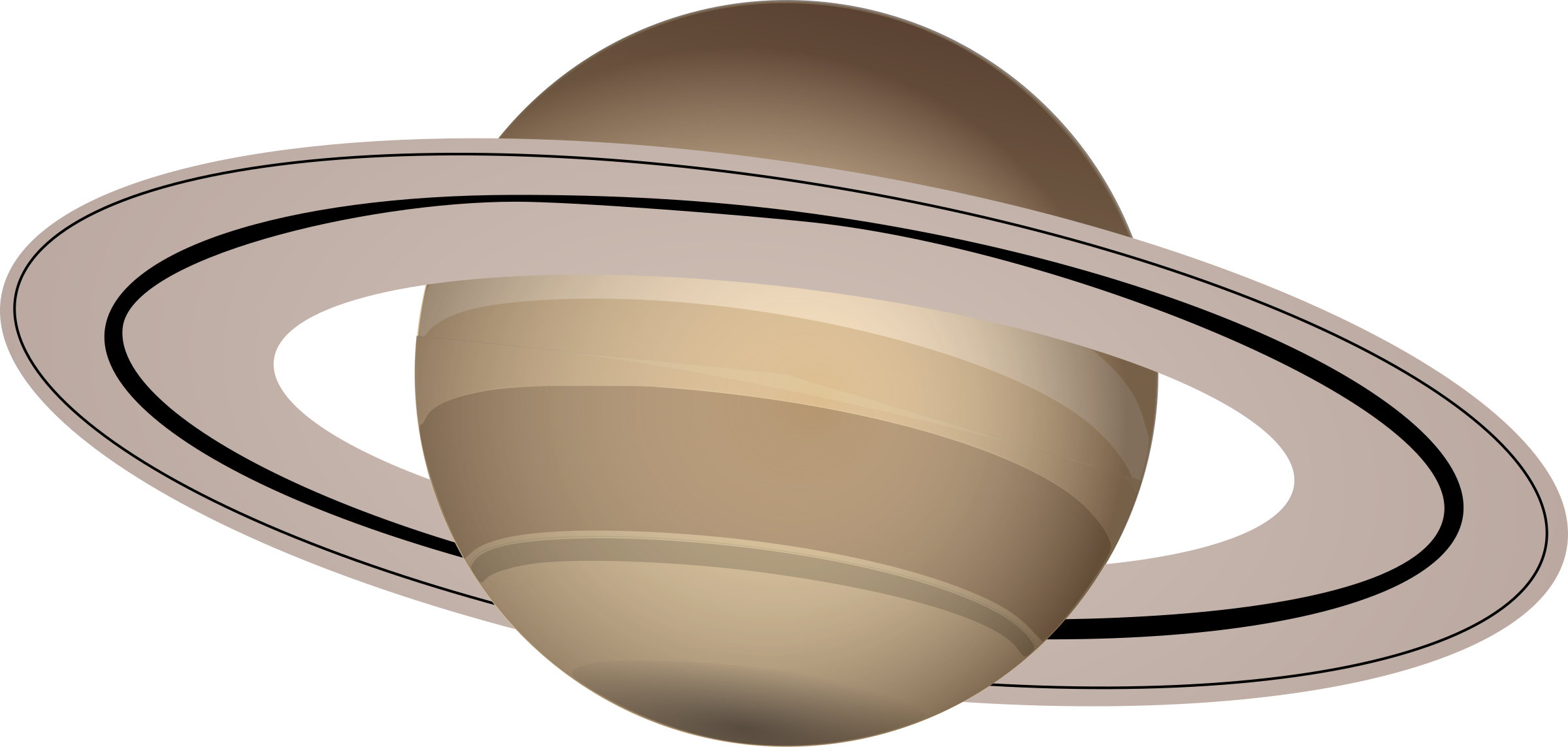 Saturn rings with TikZ - TeX - LaTeX Stack Exchange