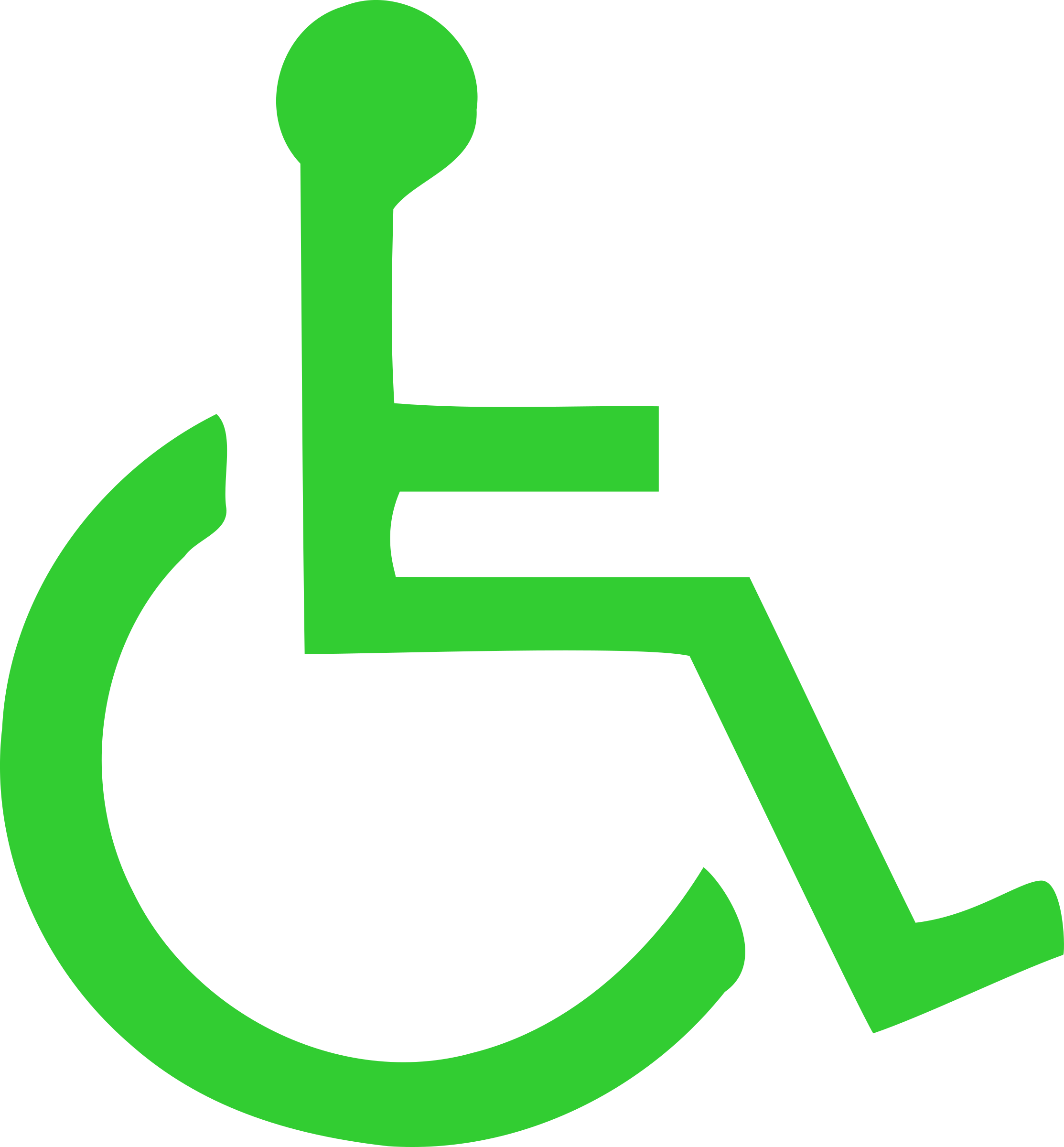 wheelchair symbol by Anonymous