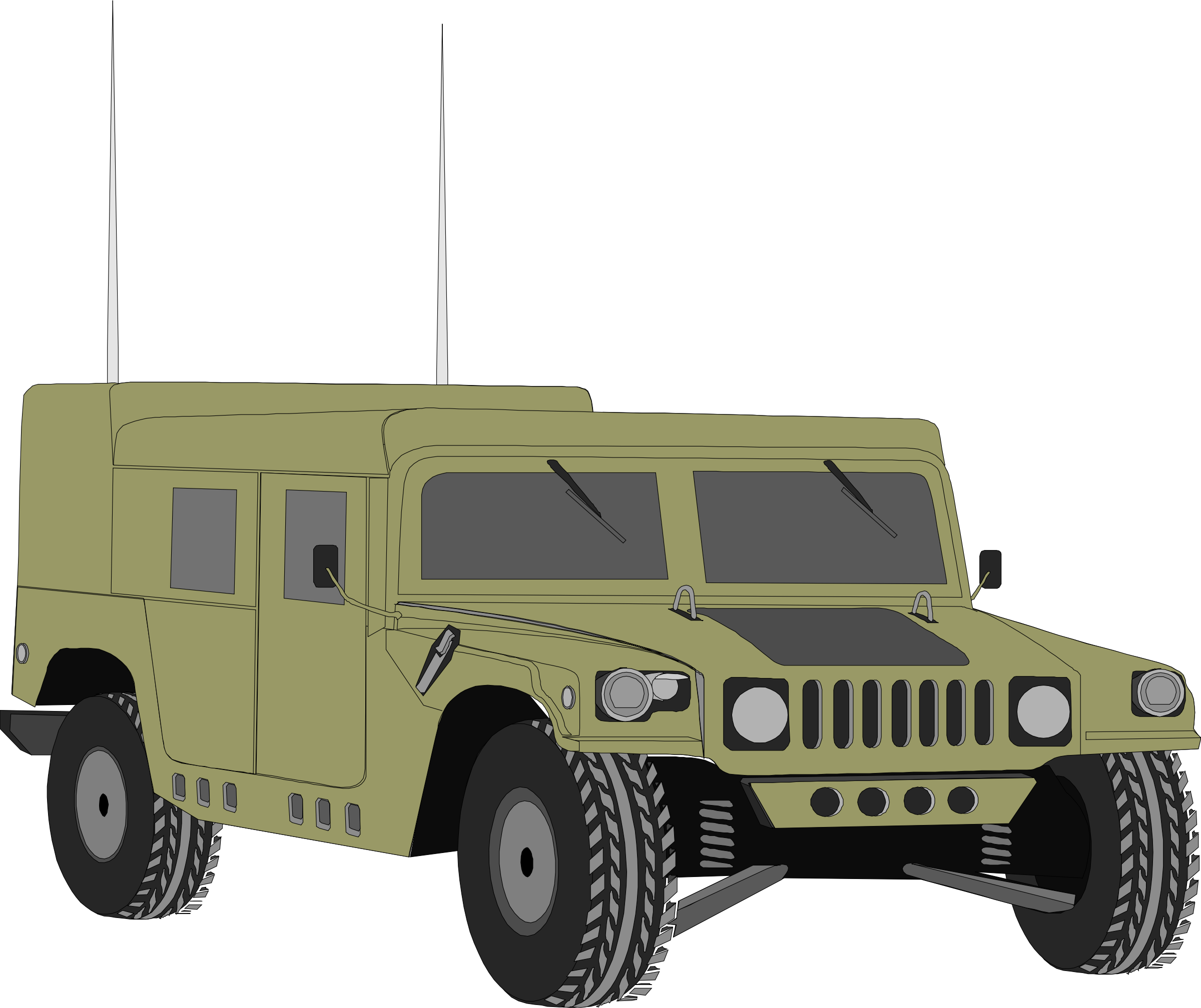 Humvee 06 by Anonymous