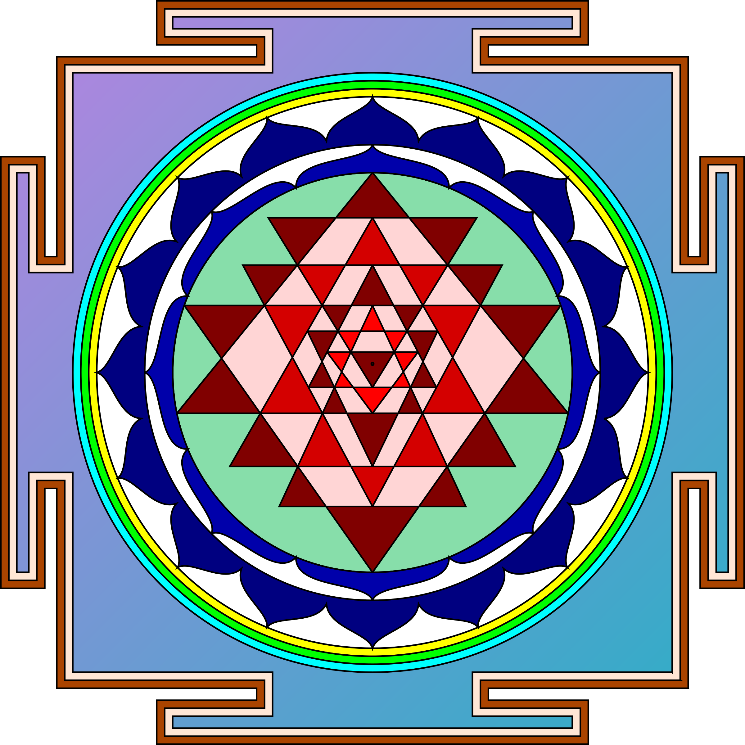 Sri Yantra by zeimusu