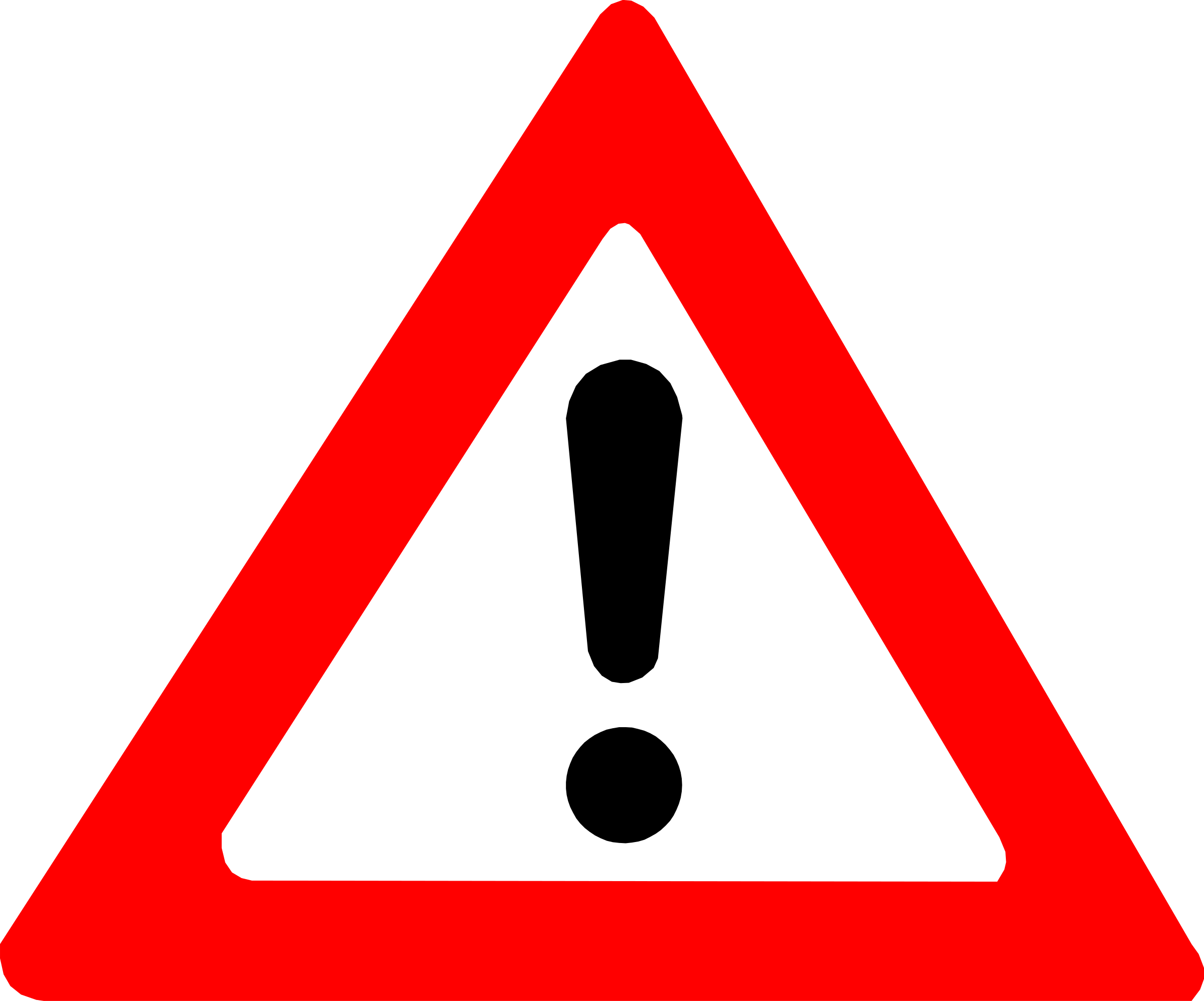 Warning Sign by palomaironique