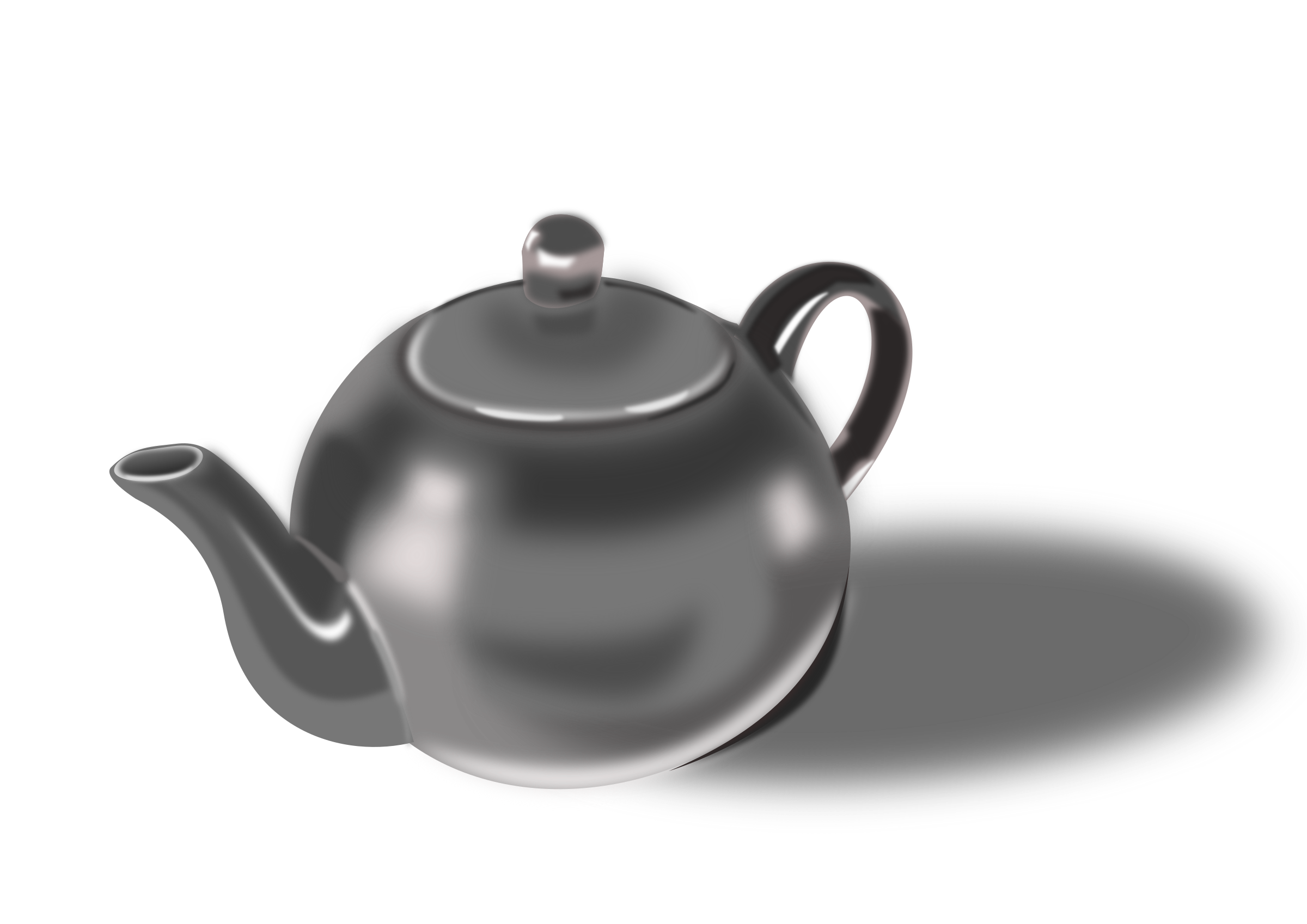 Tea pot by dominiquechappard