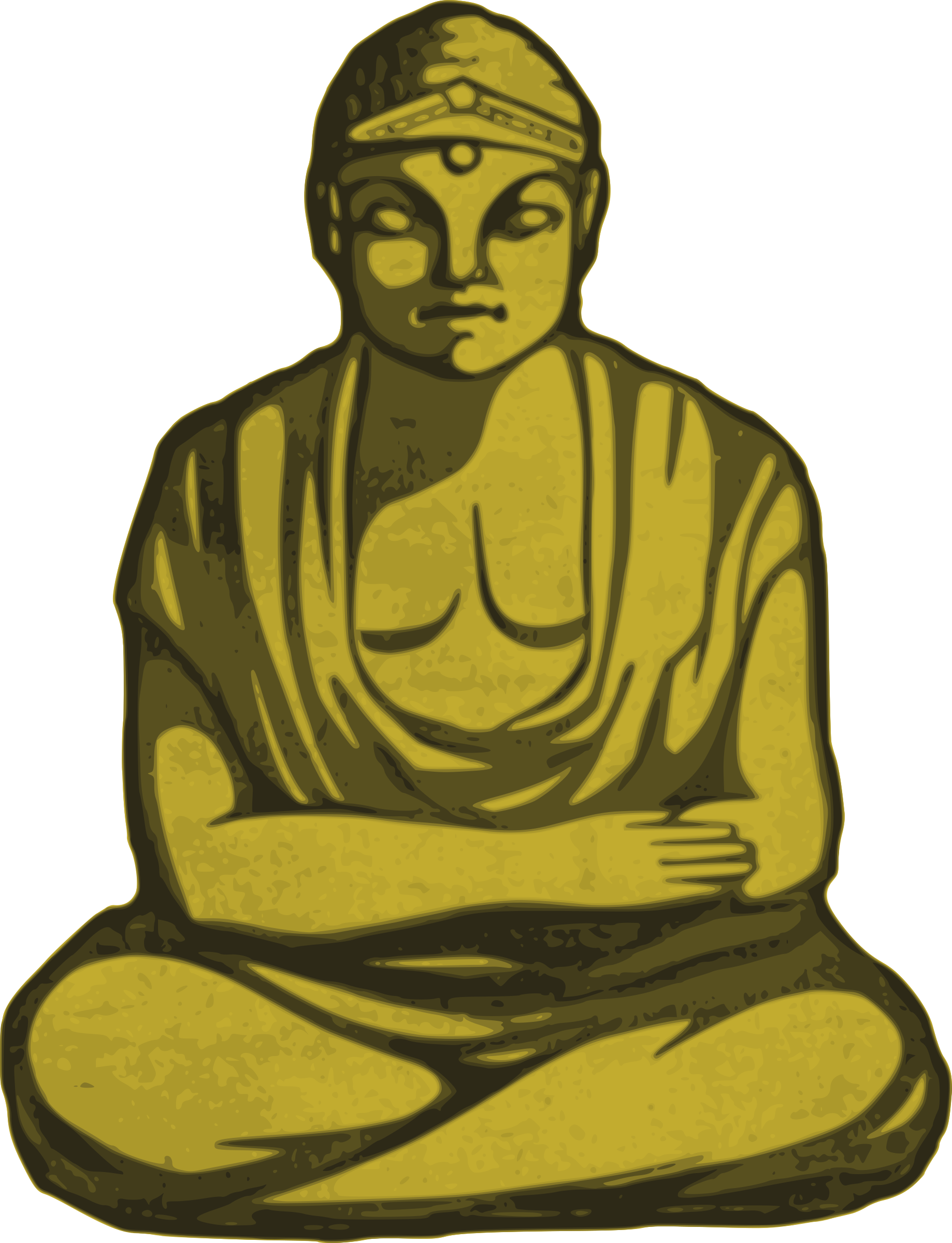 Golden Buddha by j4p4n