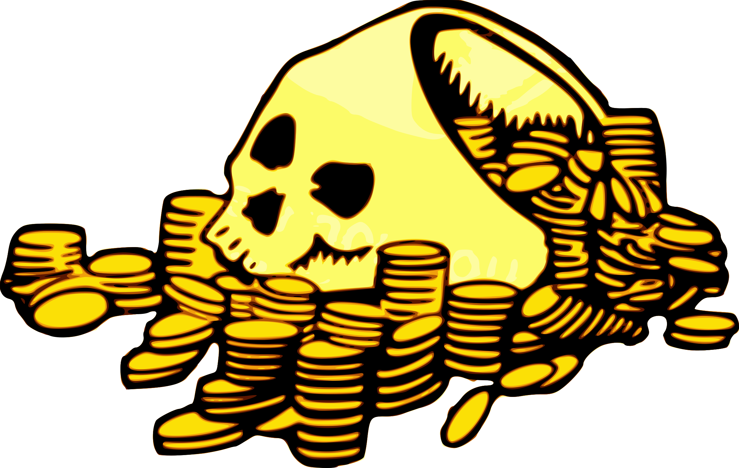 Skull & Money by j4p4n