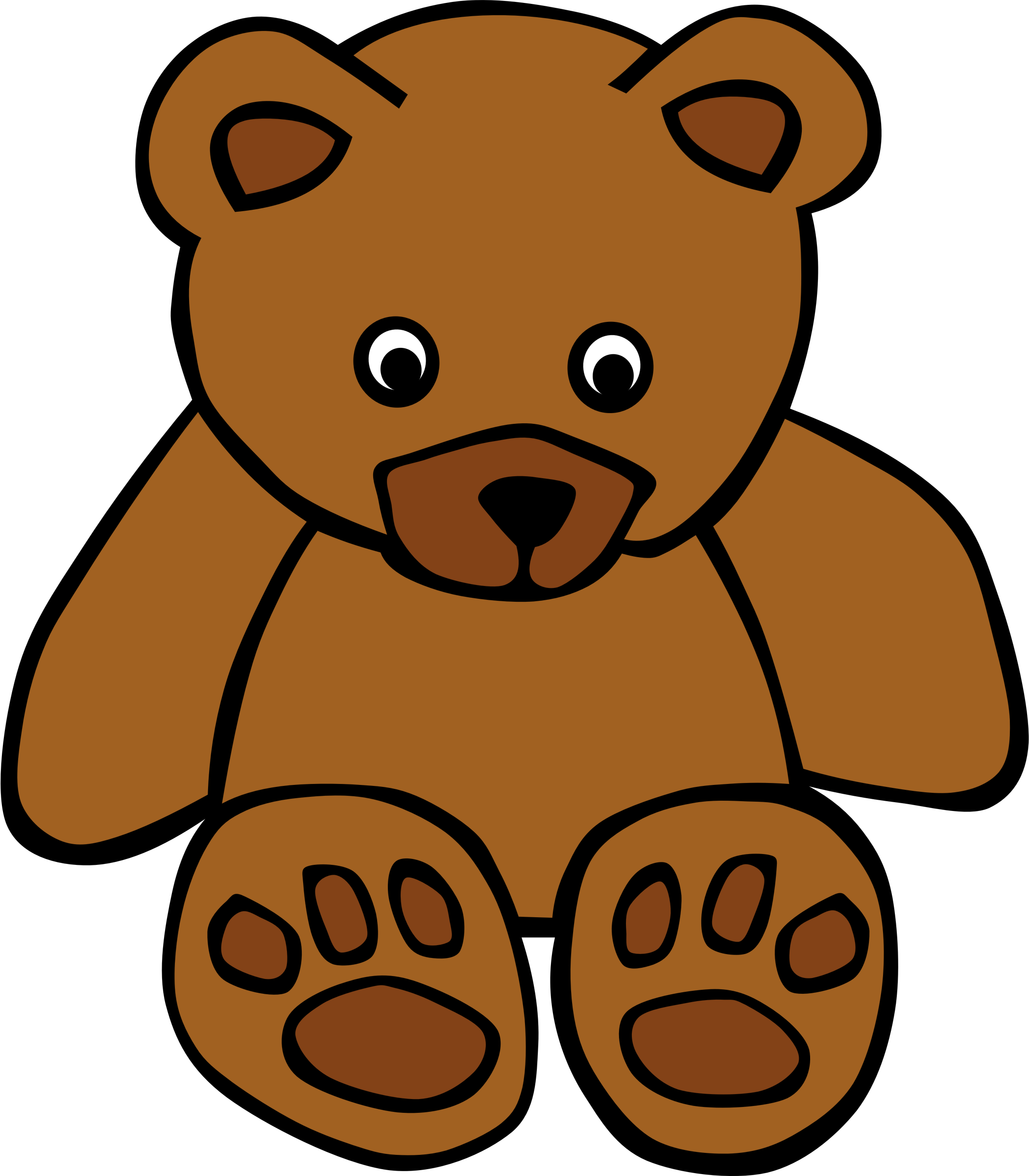 Simple Teddy Bear by Gerald_G