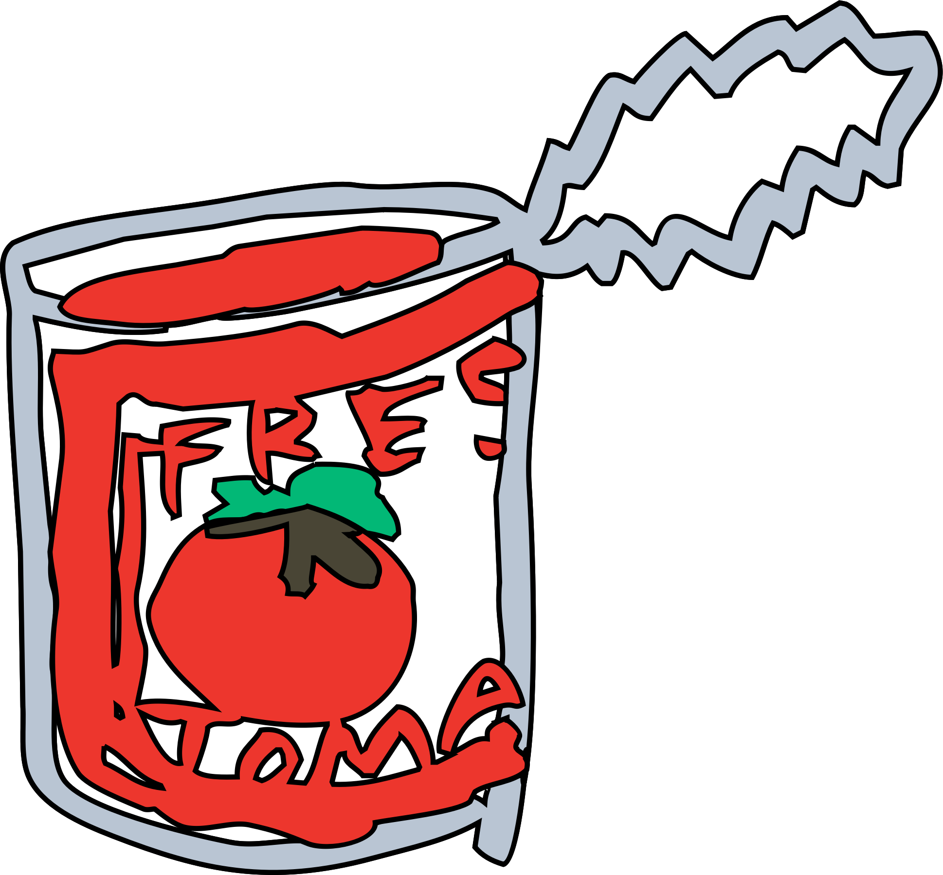 Tomato can by zeimusu