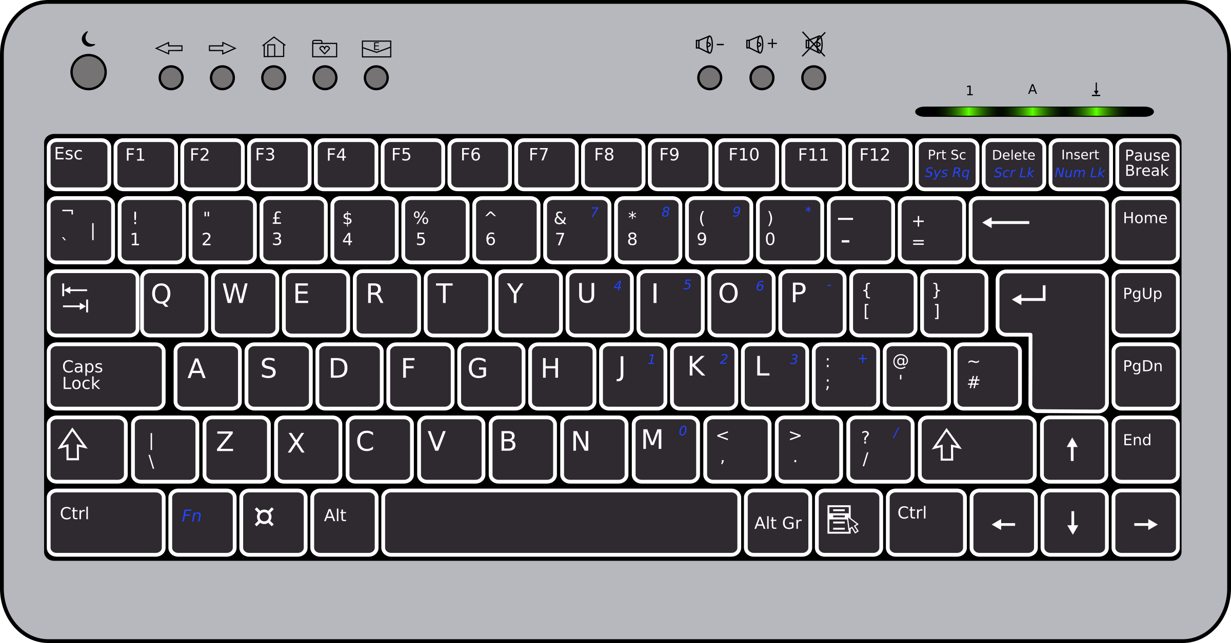 BTC6100C UK Compact Keyboard by doctormo
