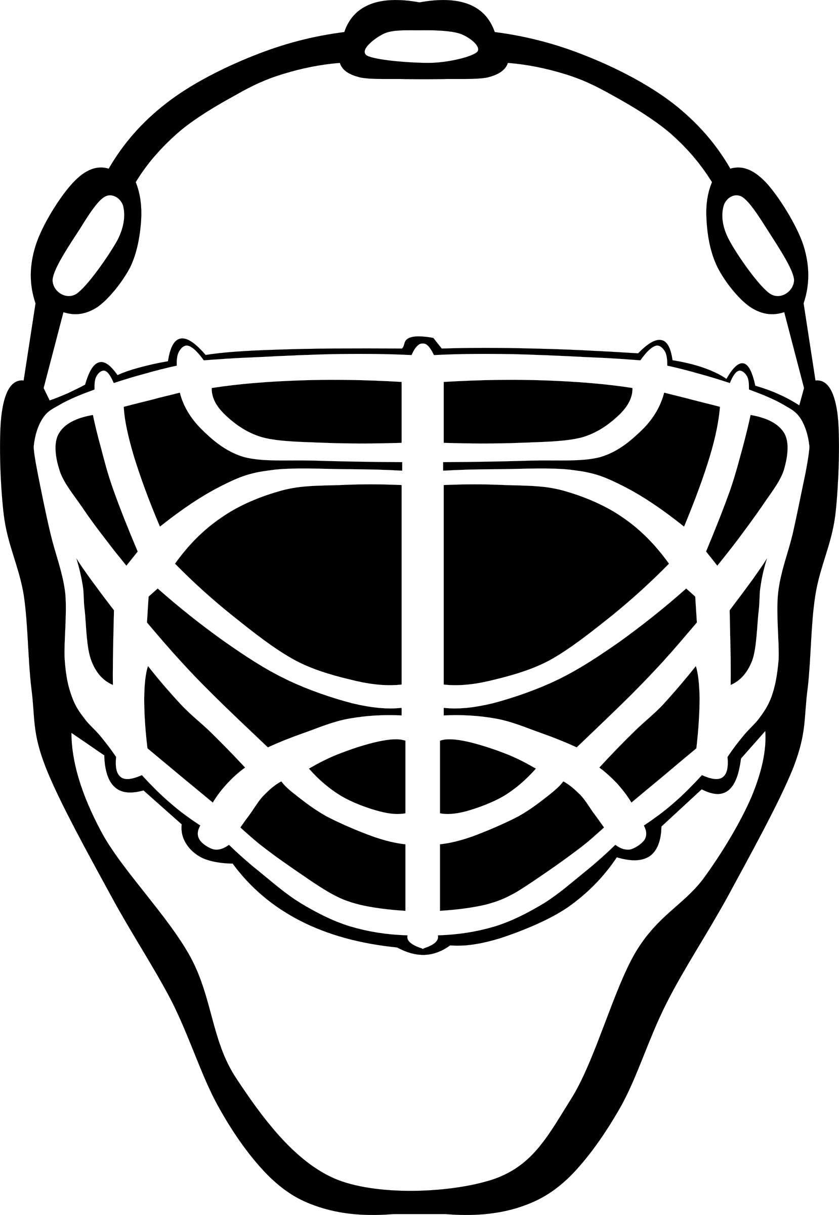 Goalie Mask Simple by Gerald_G