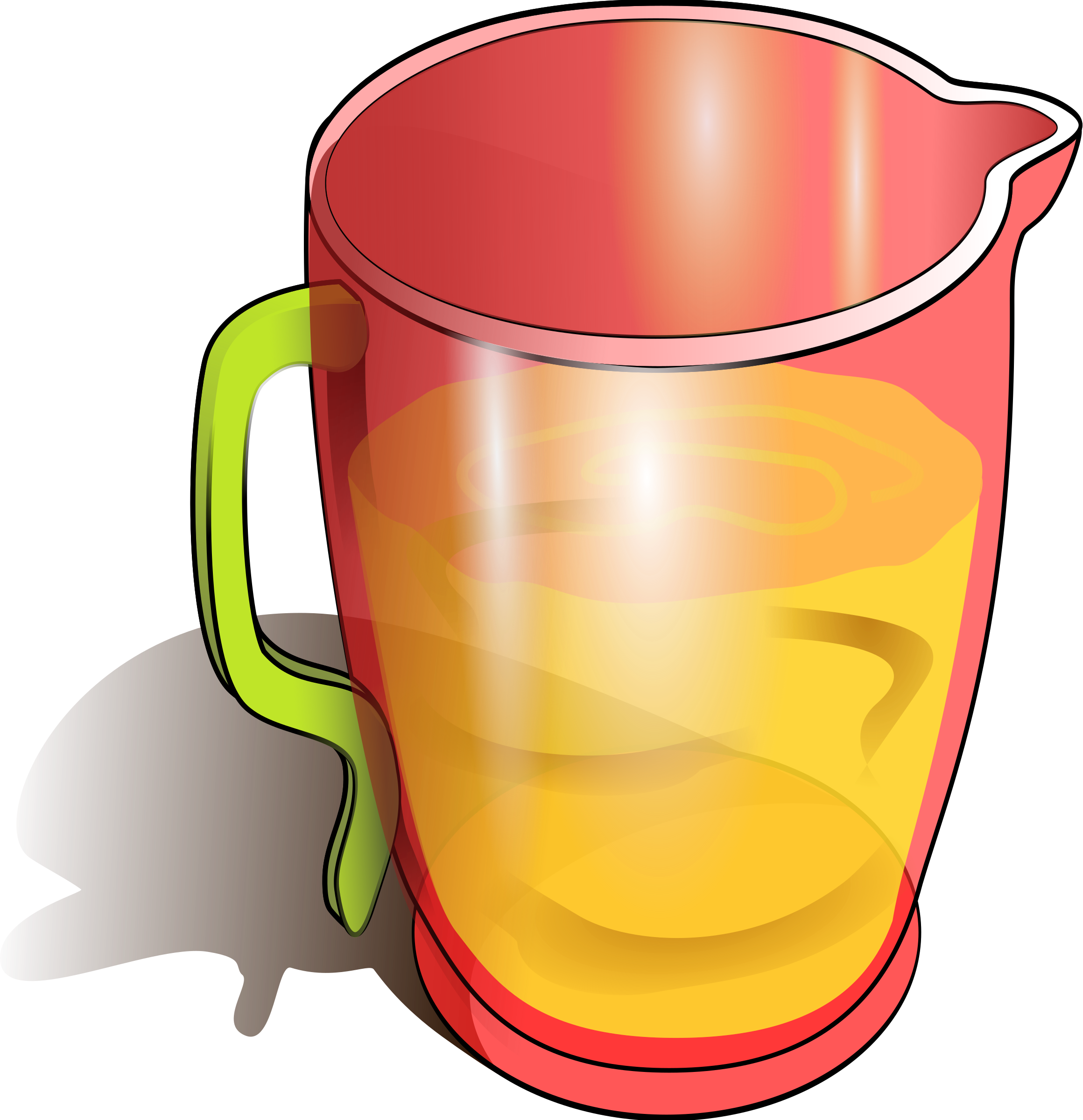 Line Drawing Jug : Clipart jug