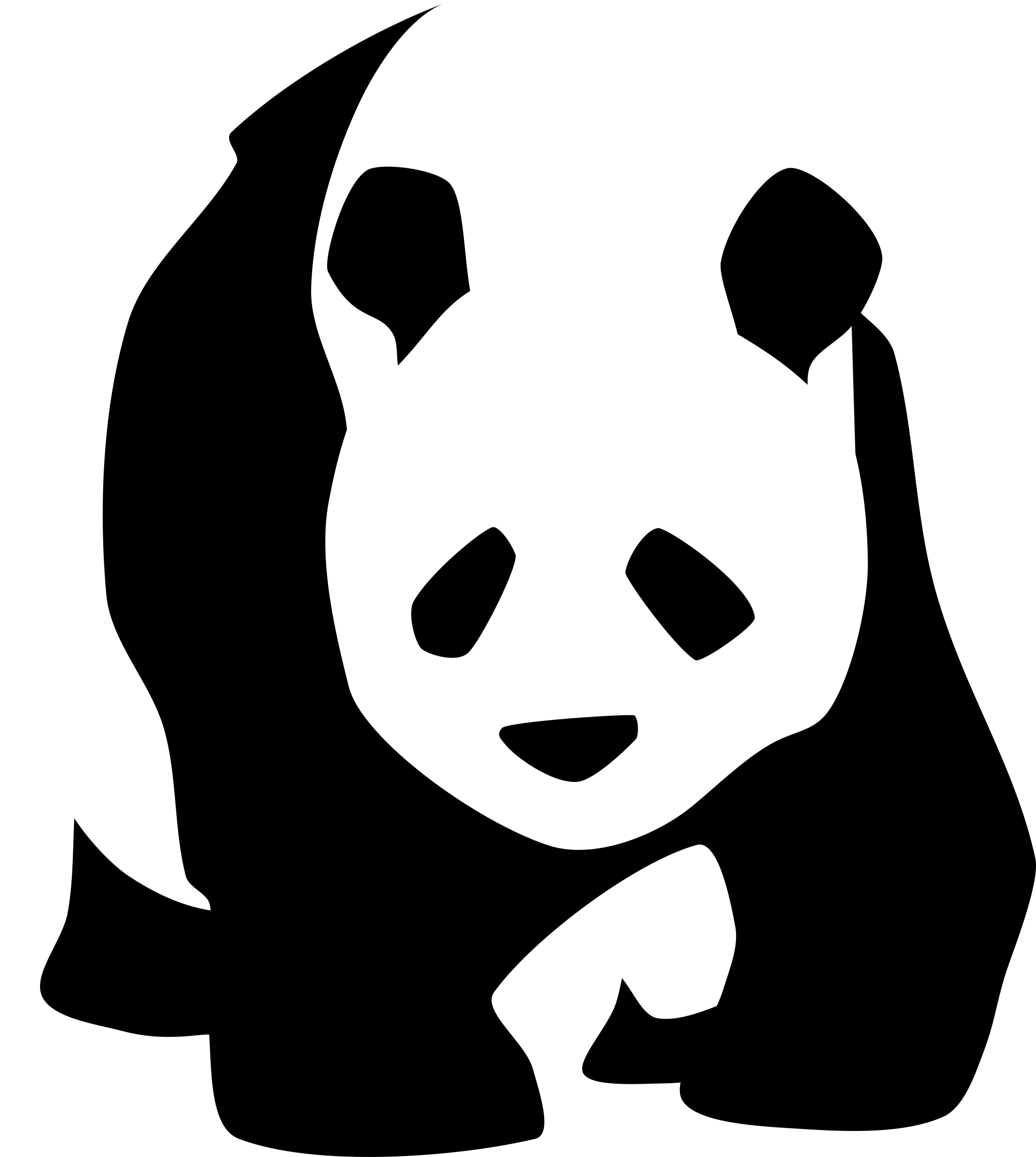giant-panda-1 by baronchon