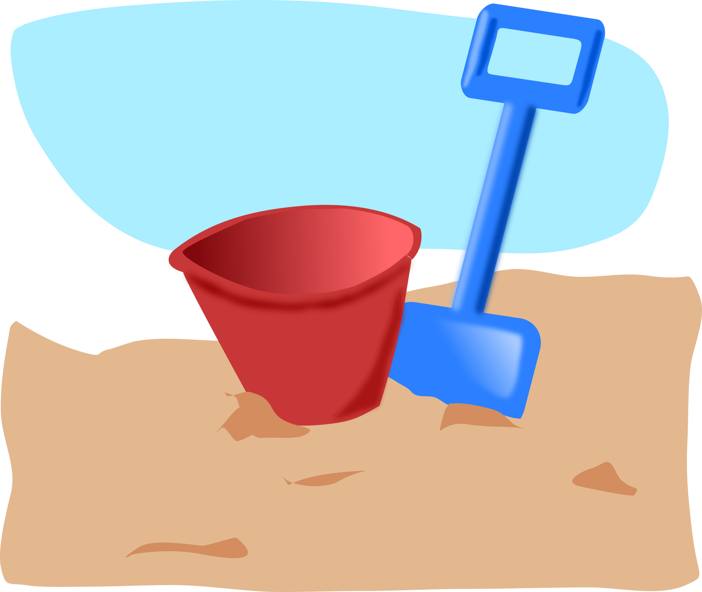bucket and spade by addon