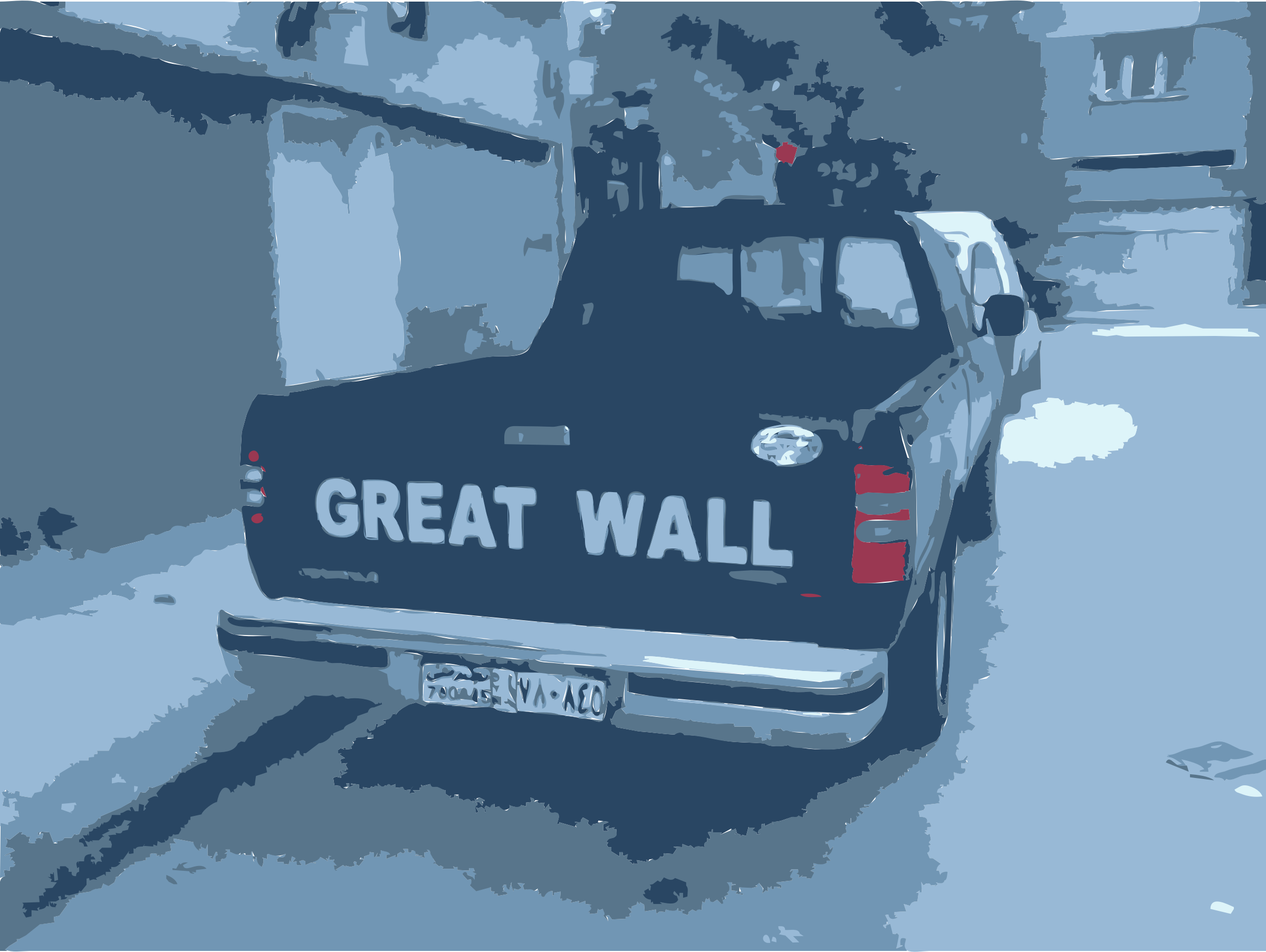 Great Wall Truck in Syria by rejon
