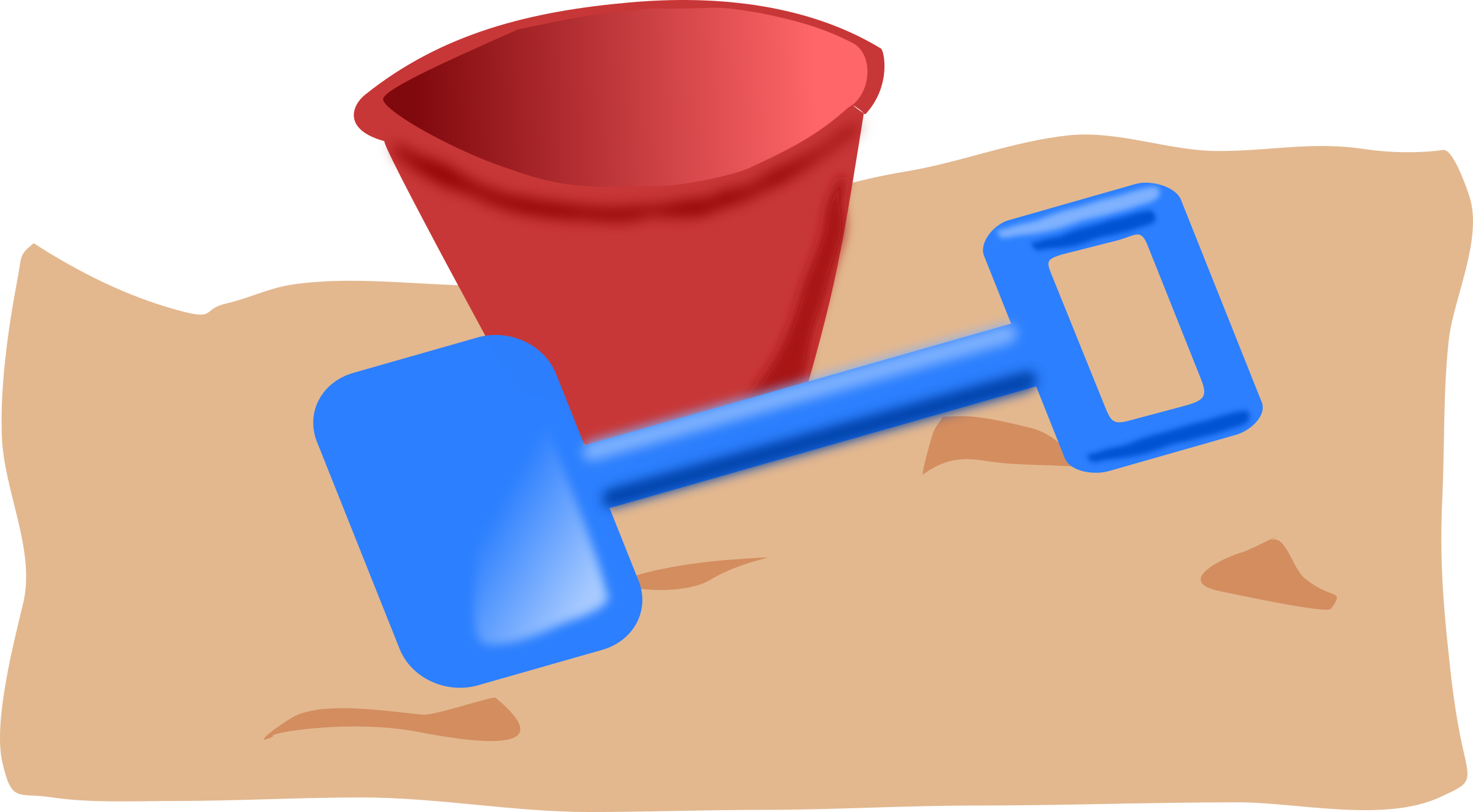 bucket and spade 2 by addon