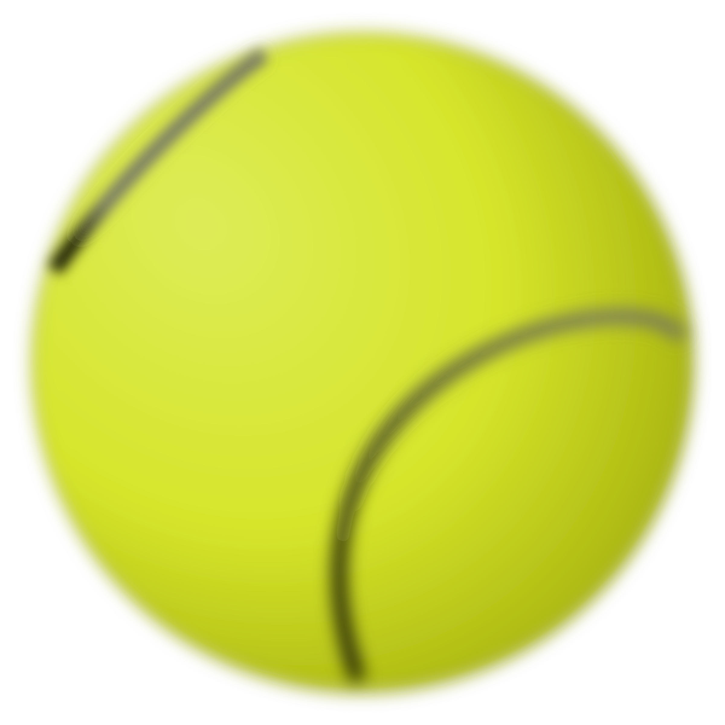 Tennis ball by Gioppino