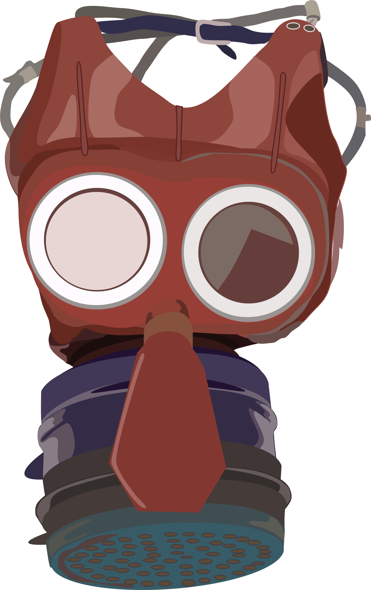 gasmask by brownjeans