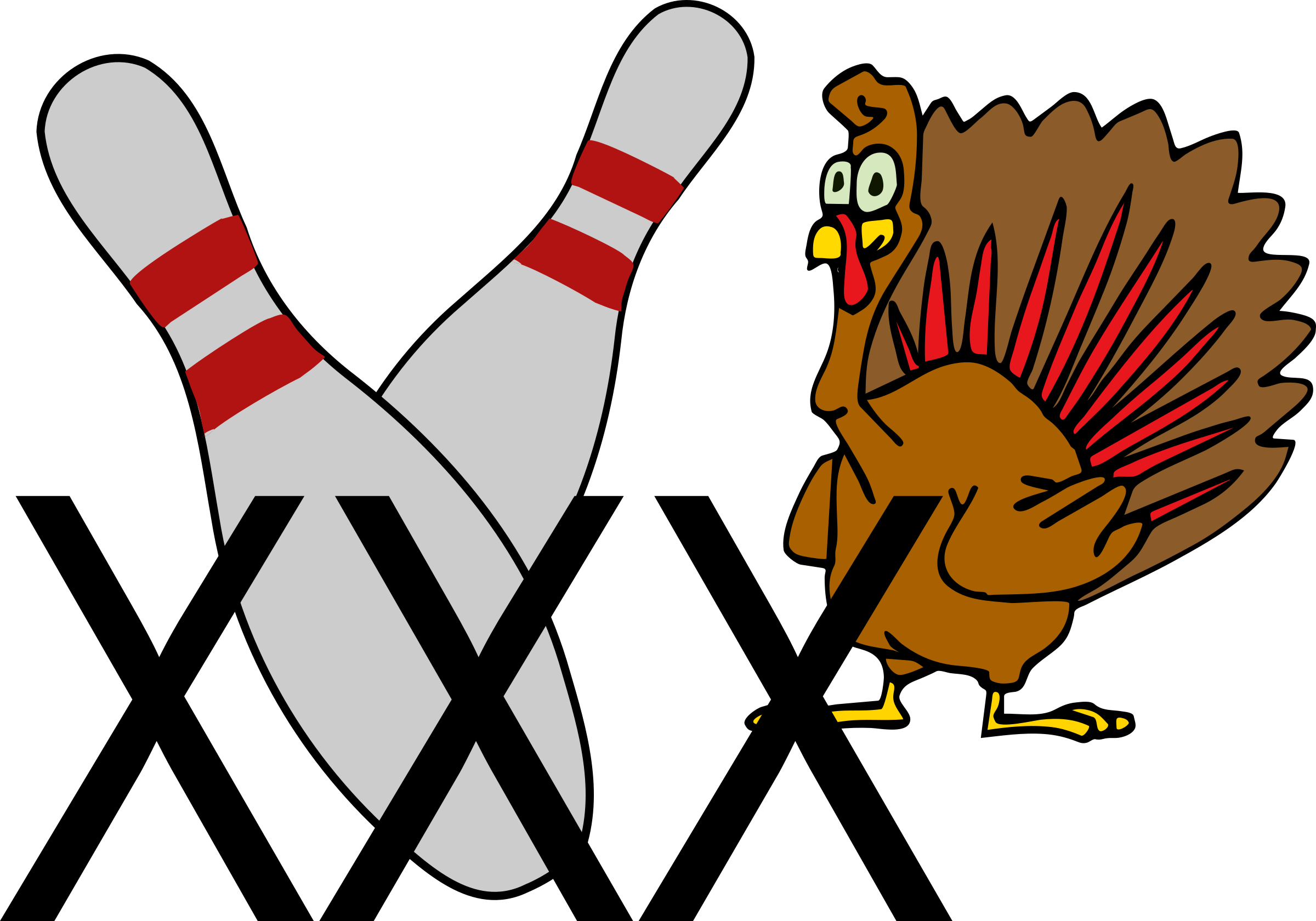 Bowling Turkey by mazeo