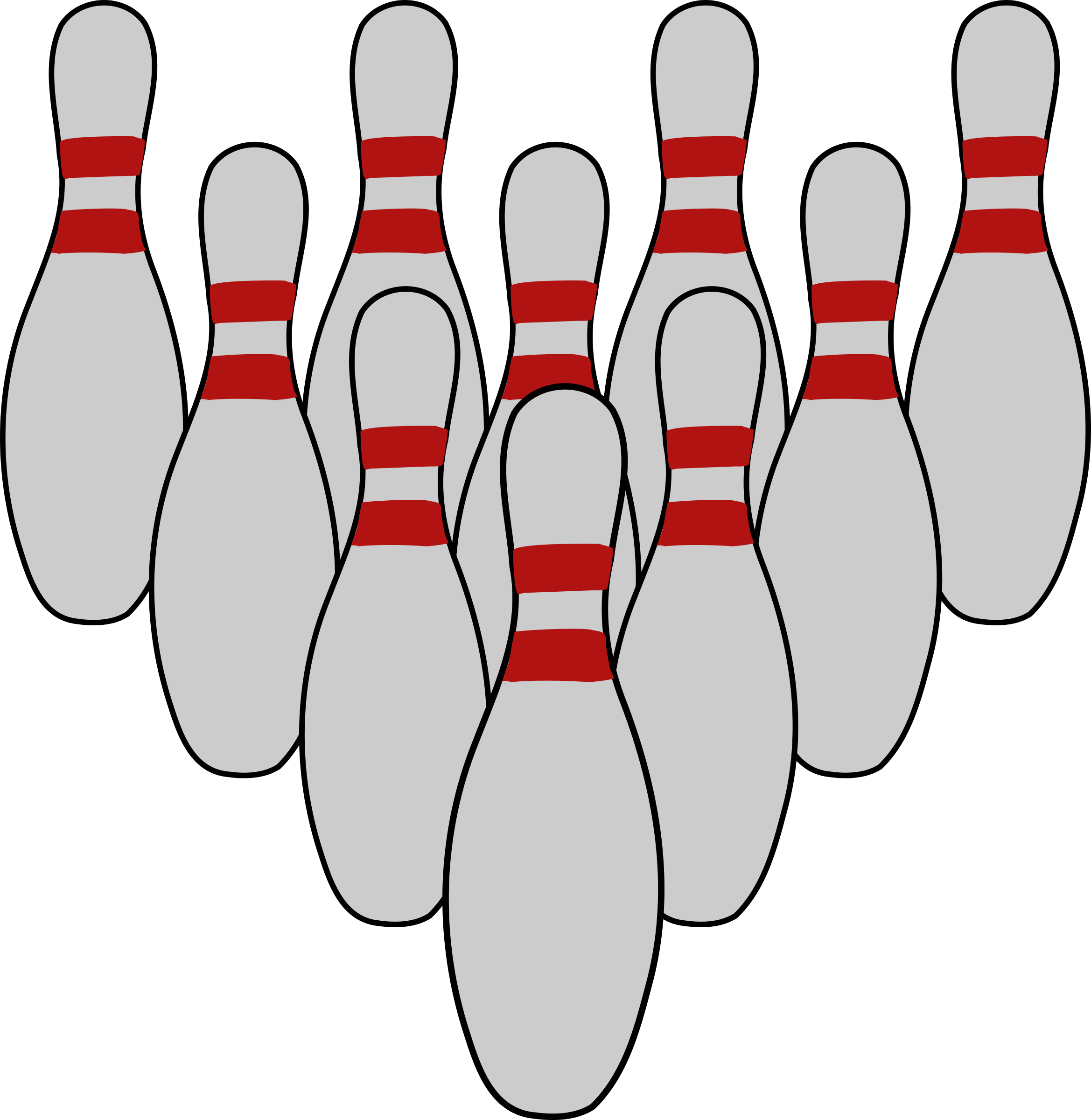 Bowling Tenpins by mazeo