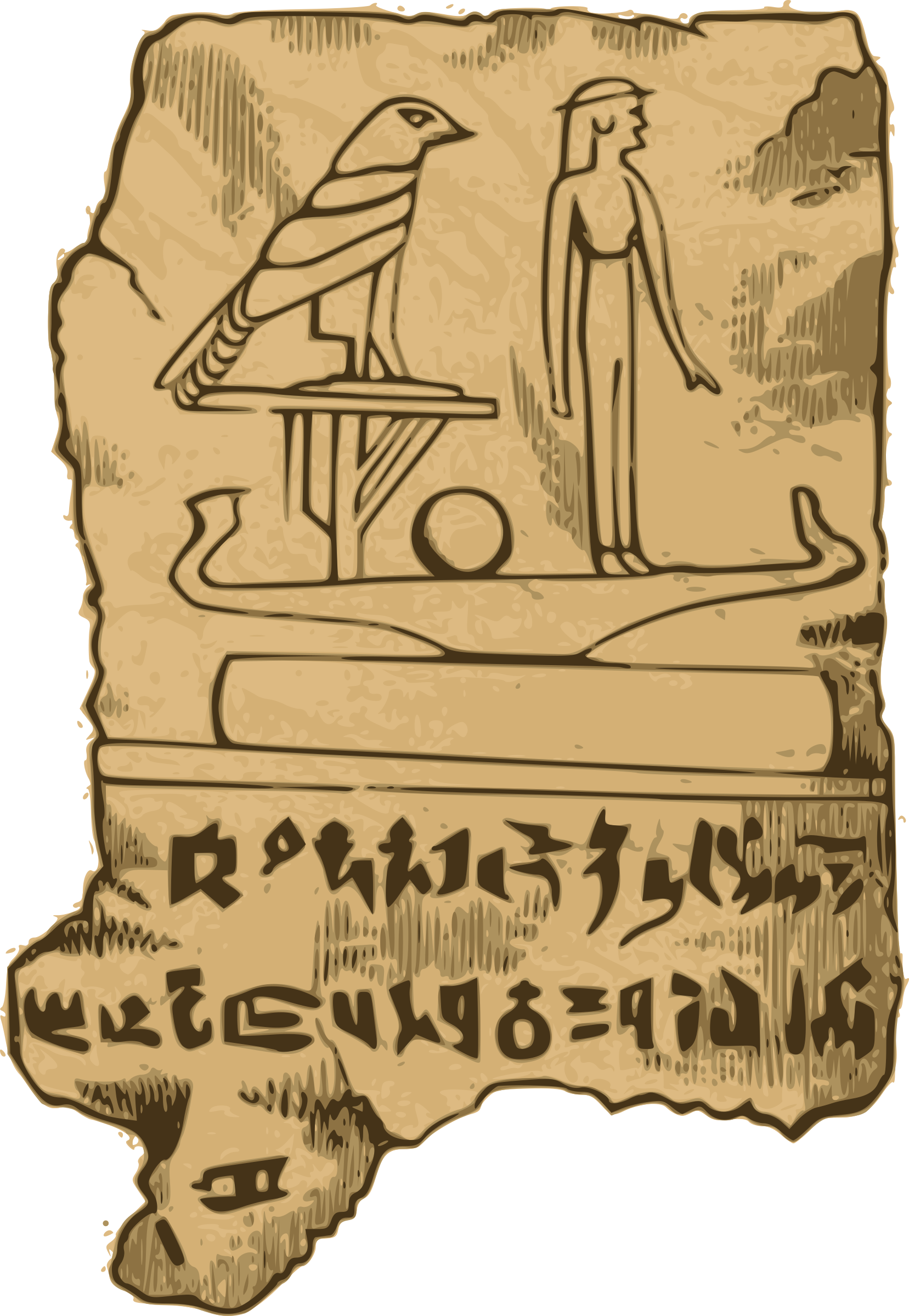 Egyptian Tablet by j4p4n
