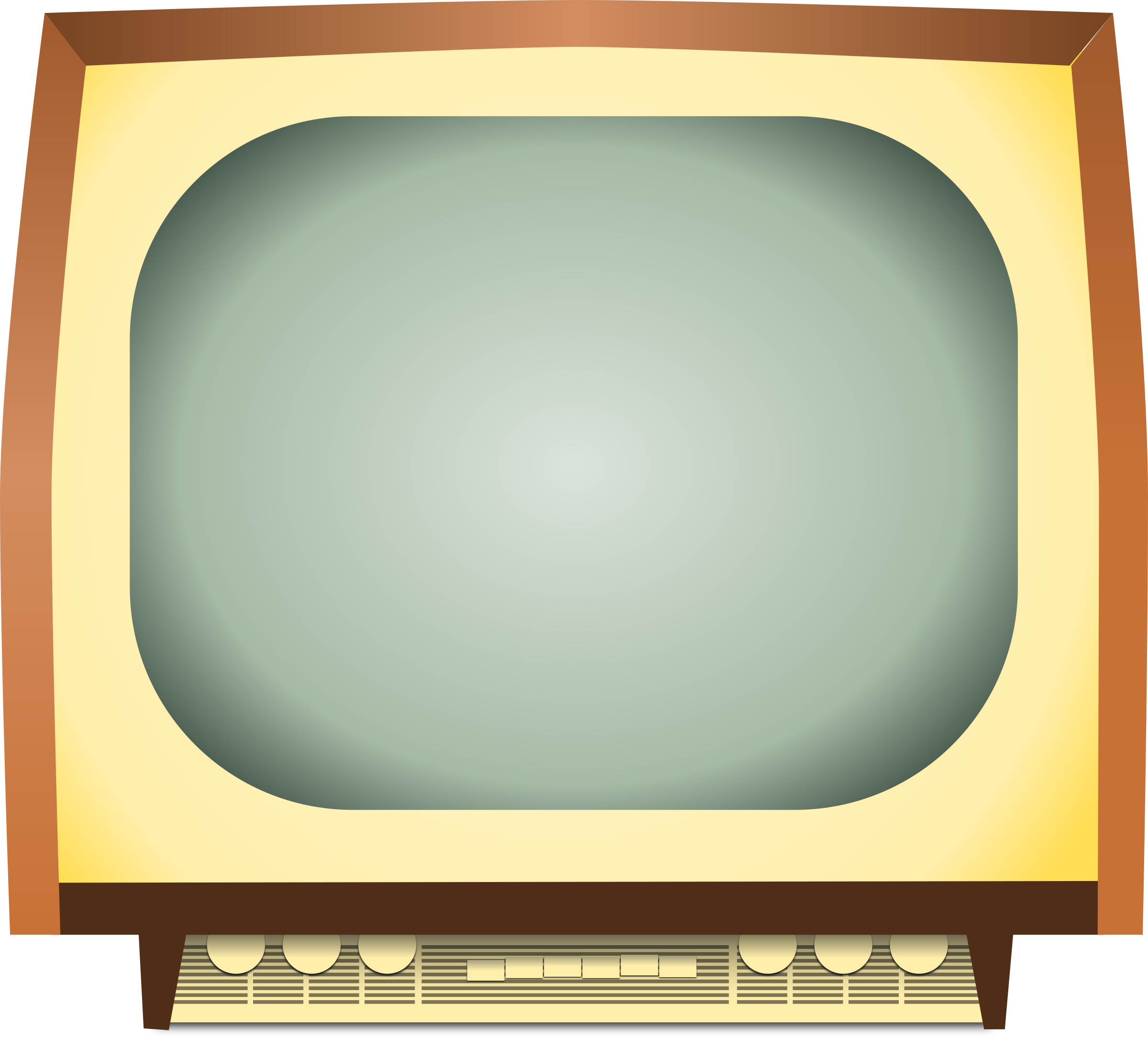 Old Tv Clipart