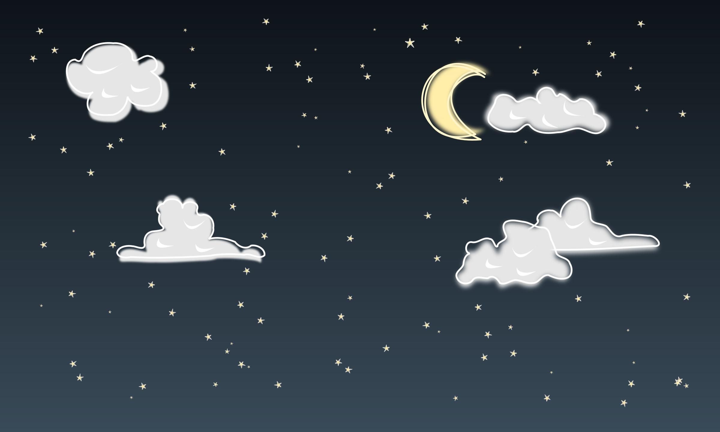 Night sky by yeKcim