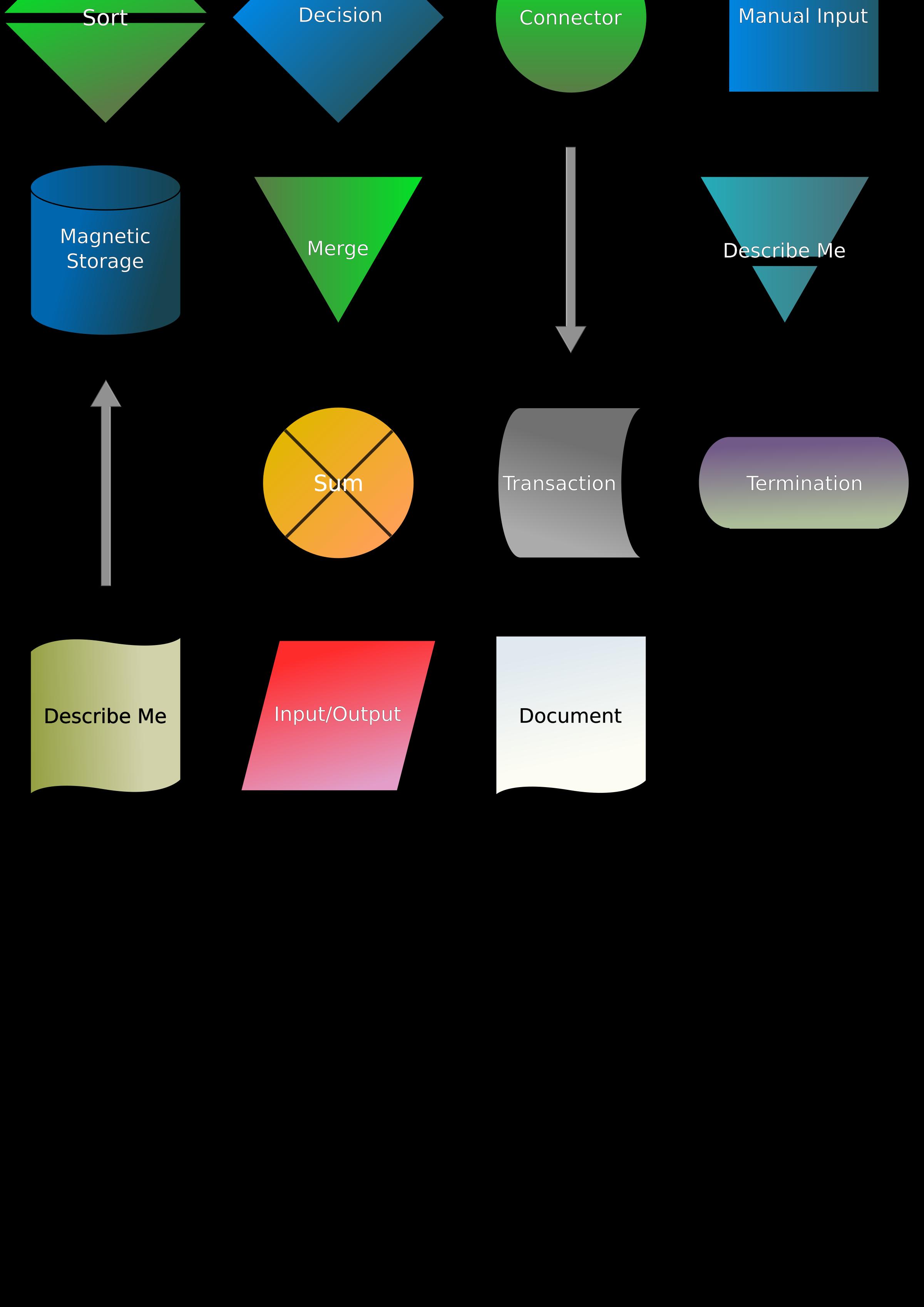 Clipart Flowchart Symbols