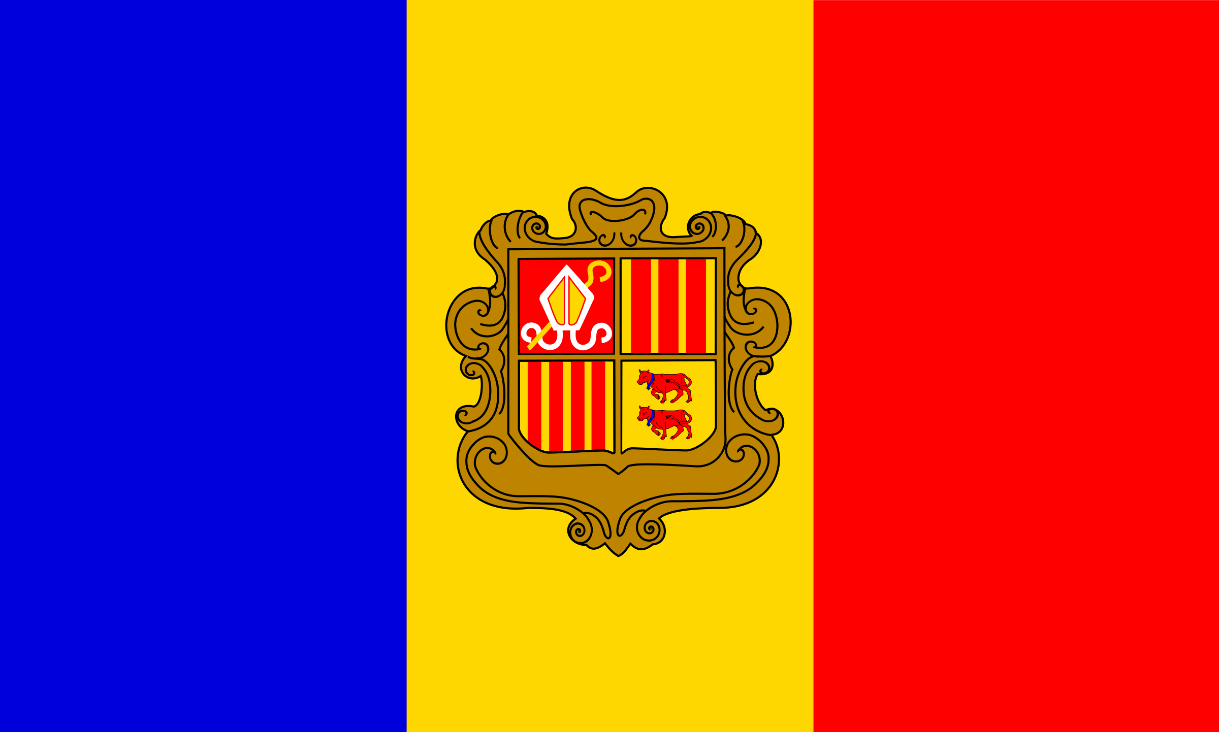 andorre flag patricia f 05r by Anonymous