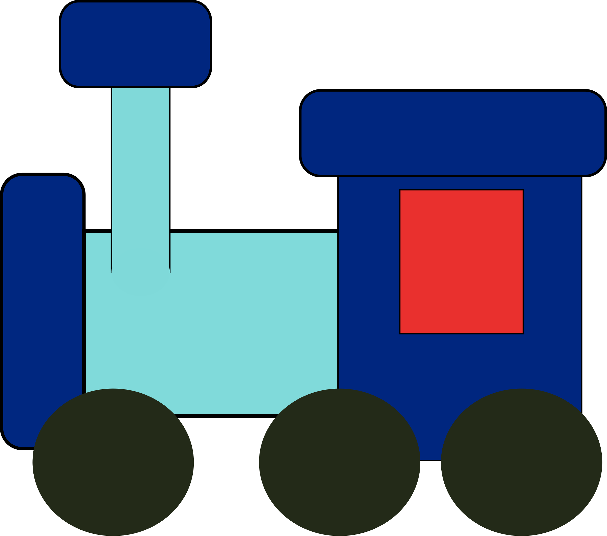 kiddy train by Anonymous