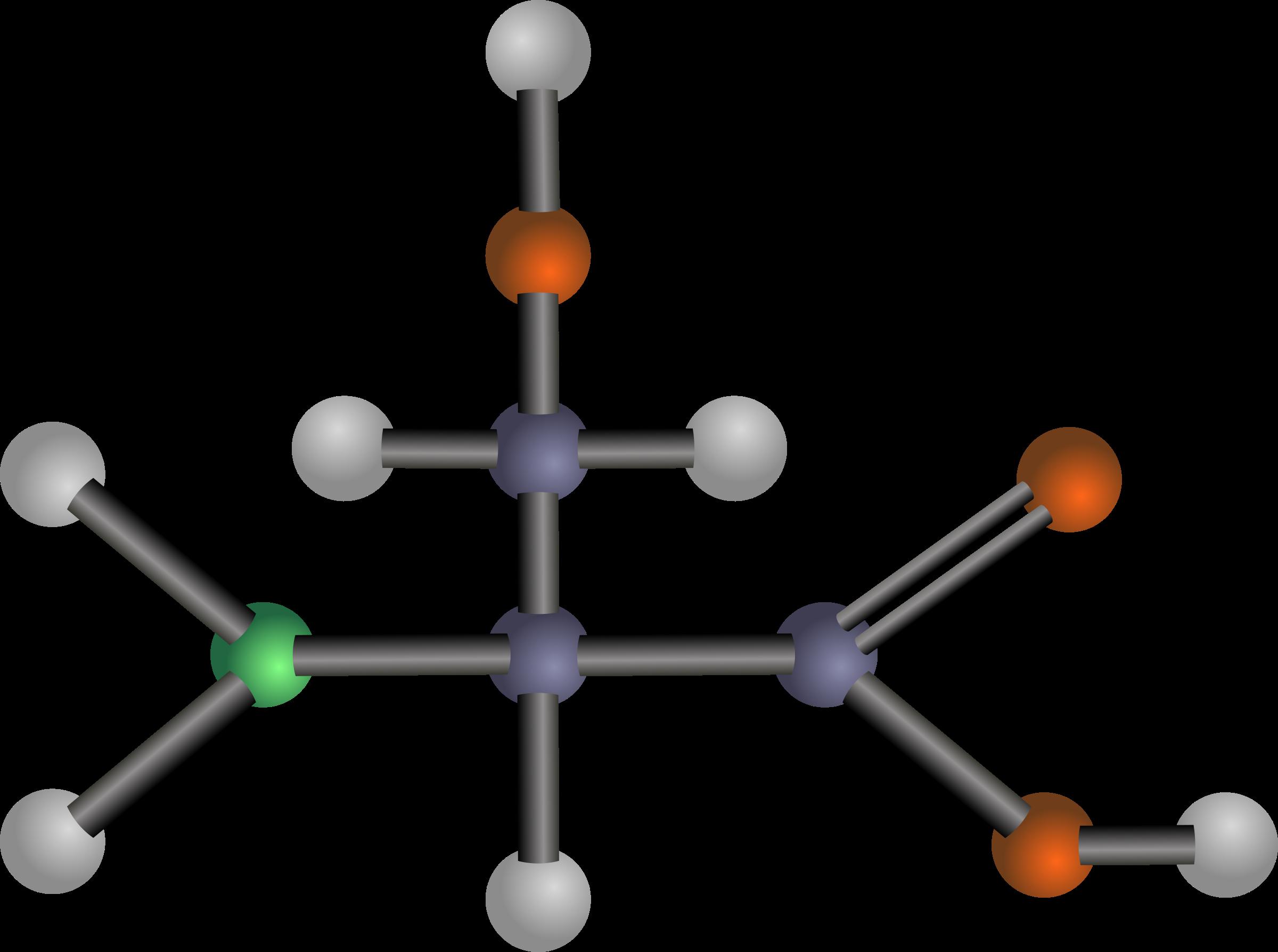 Clipart - Serine (amino acid)