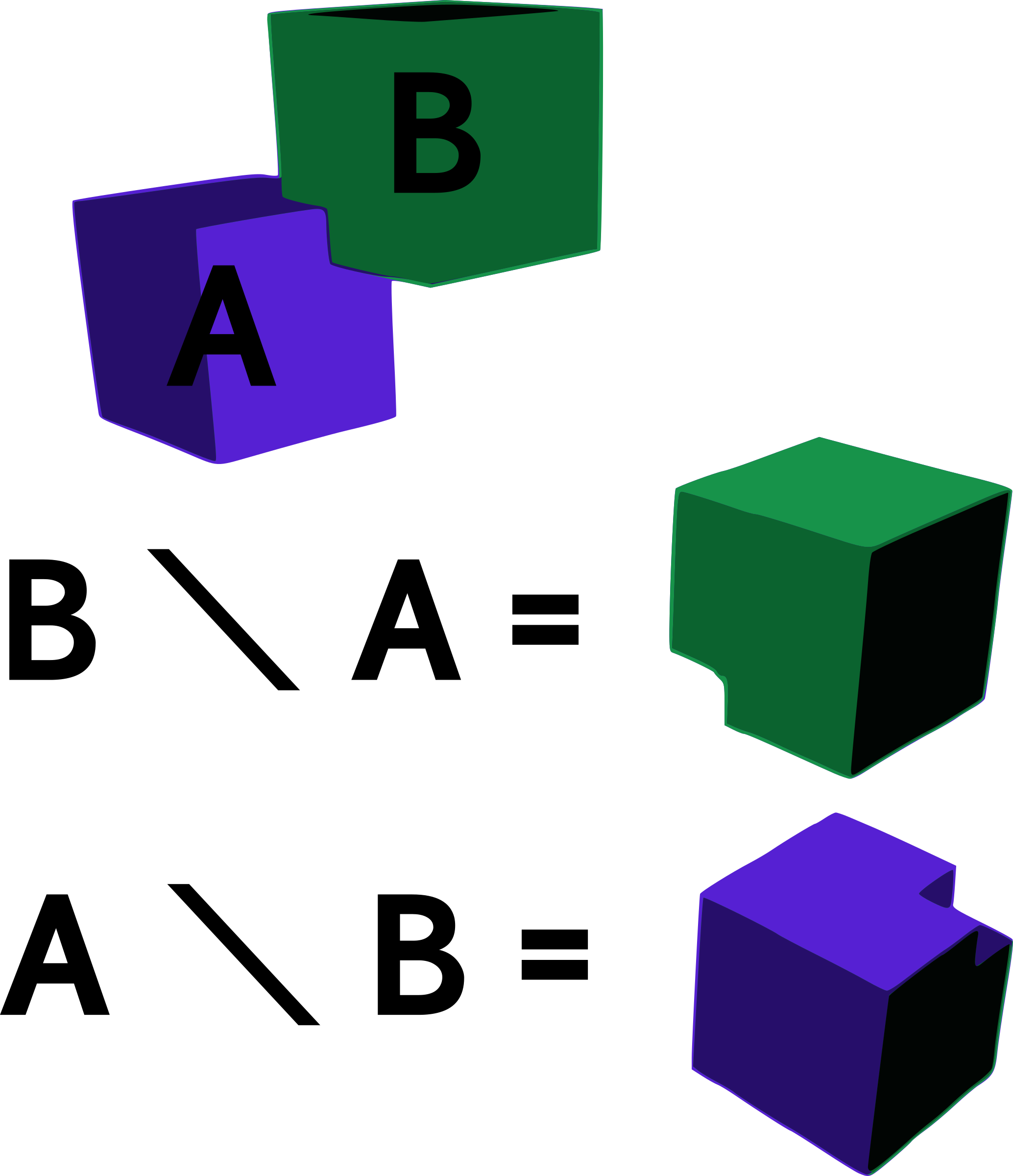 Difference of Two Cubes by mazeo