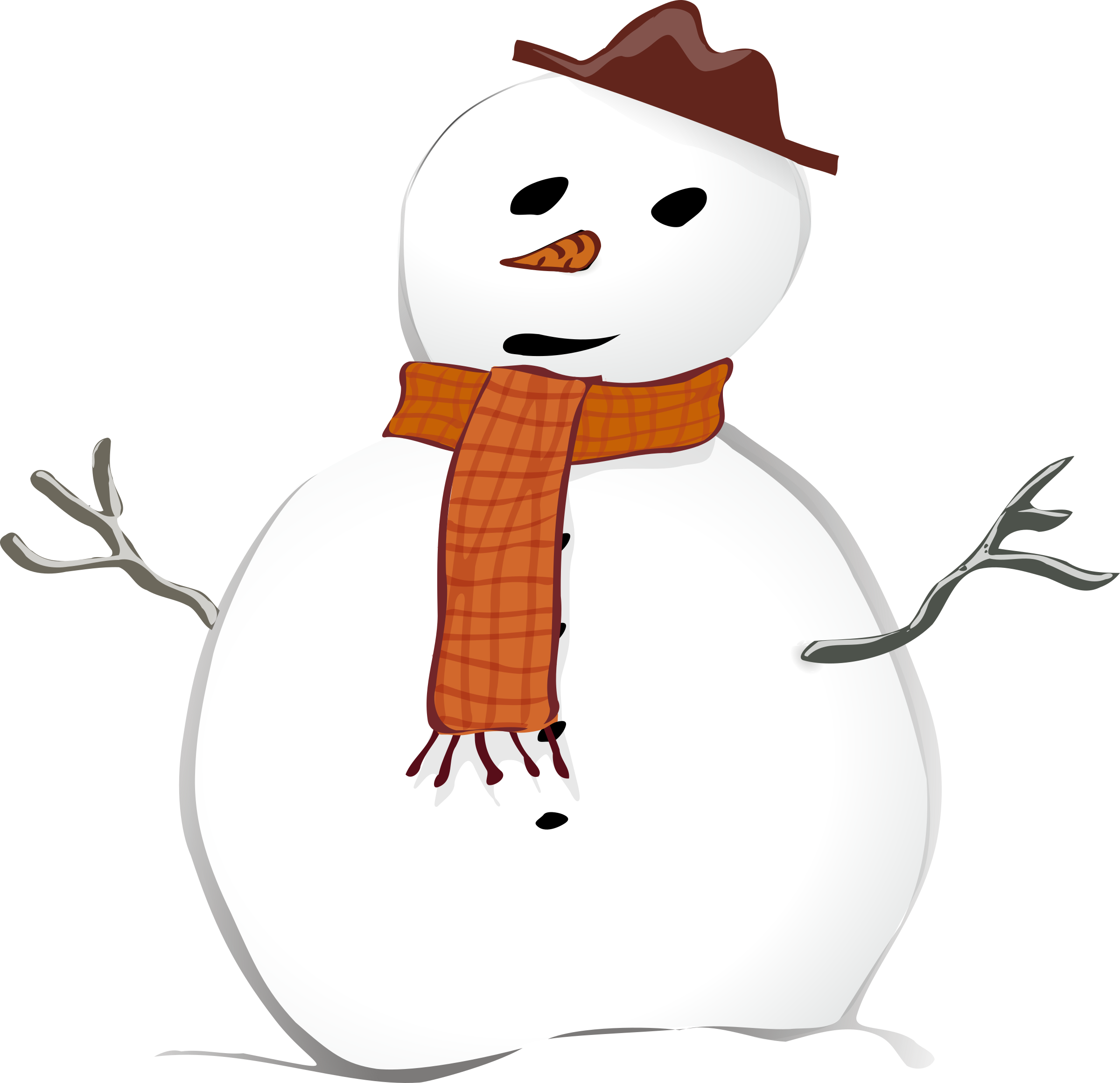 Snowman by TheresaKnott