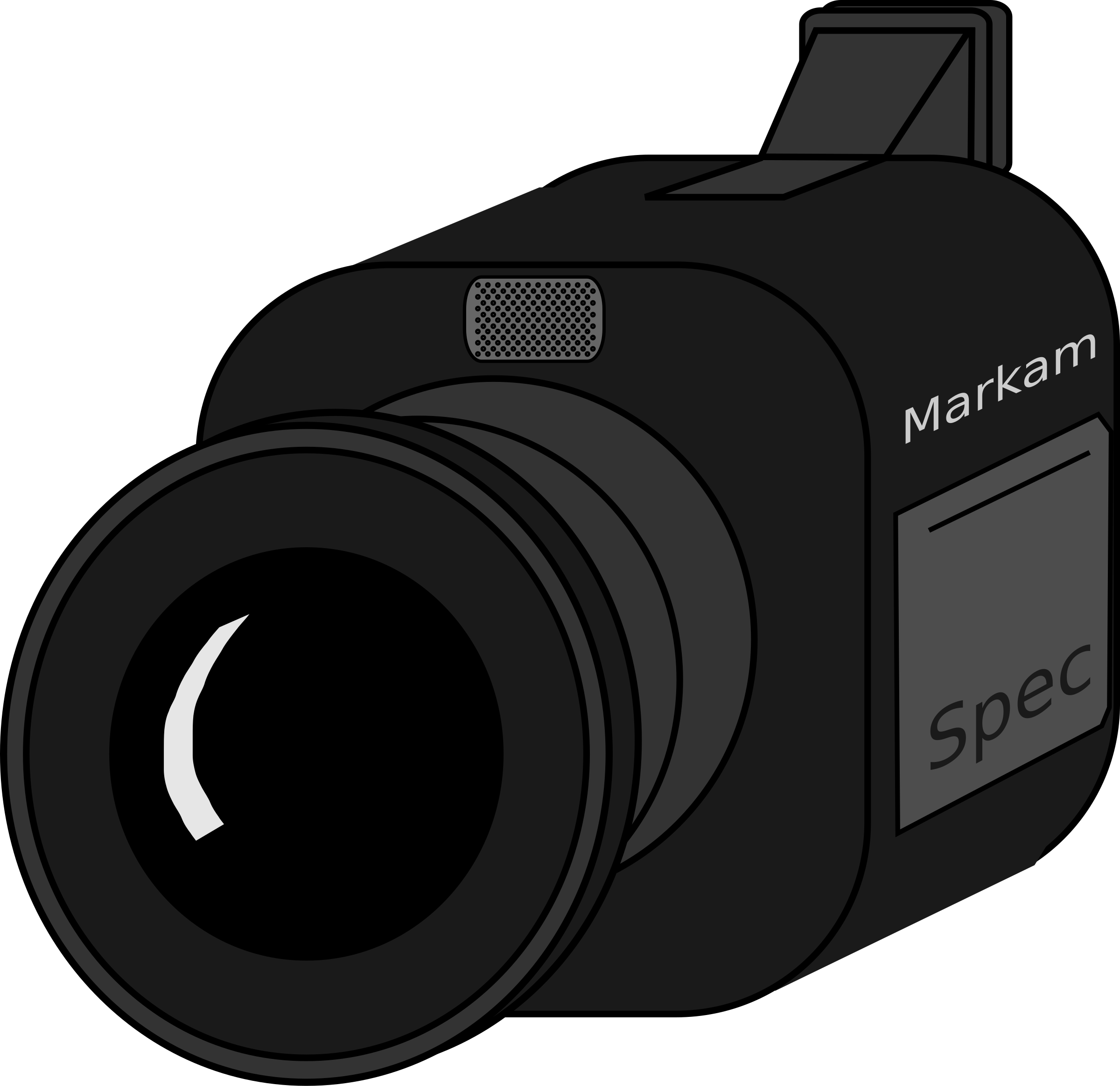 video camera by evilestmark