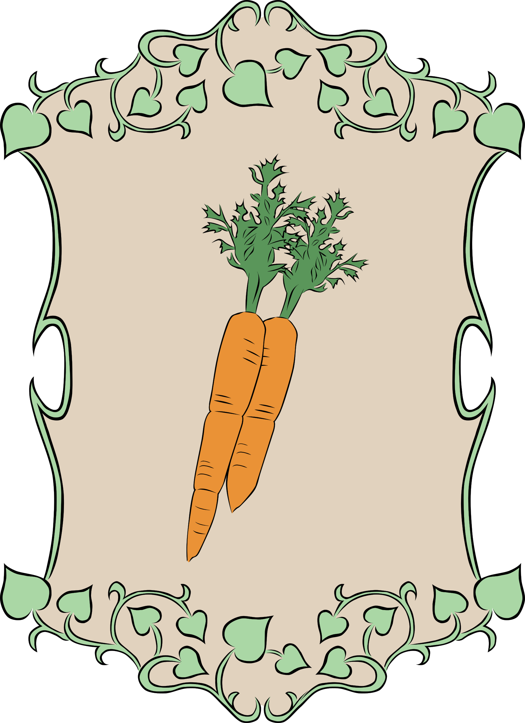 Garden Sign Carrots by Gerald_G