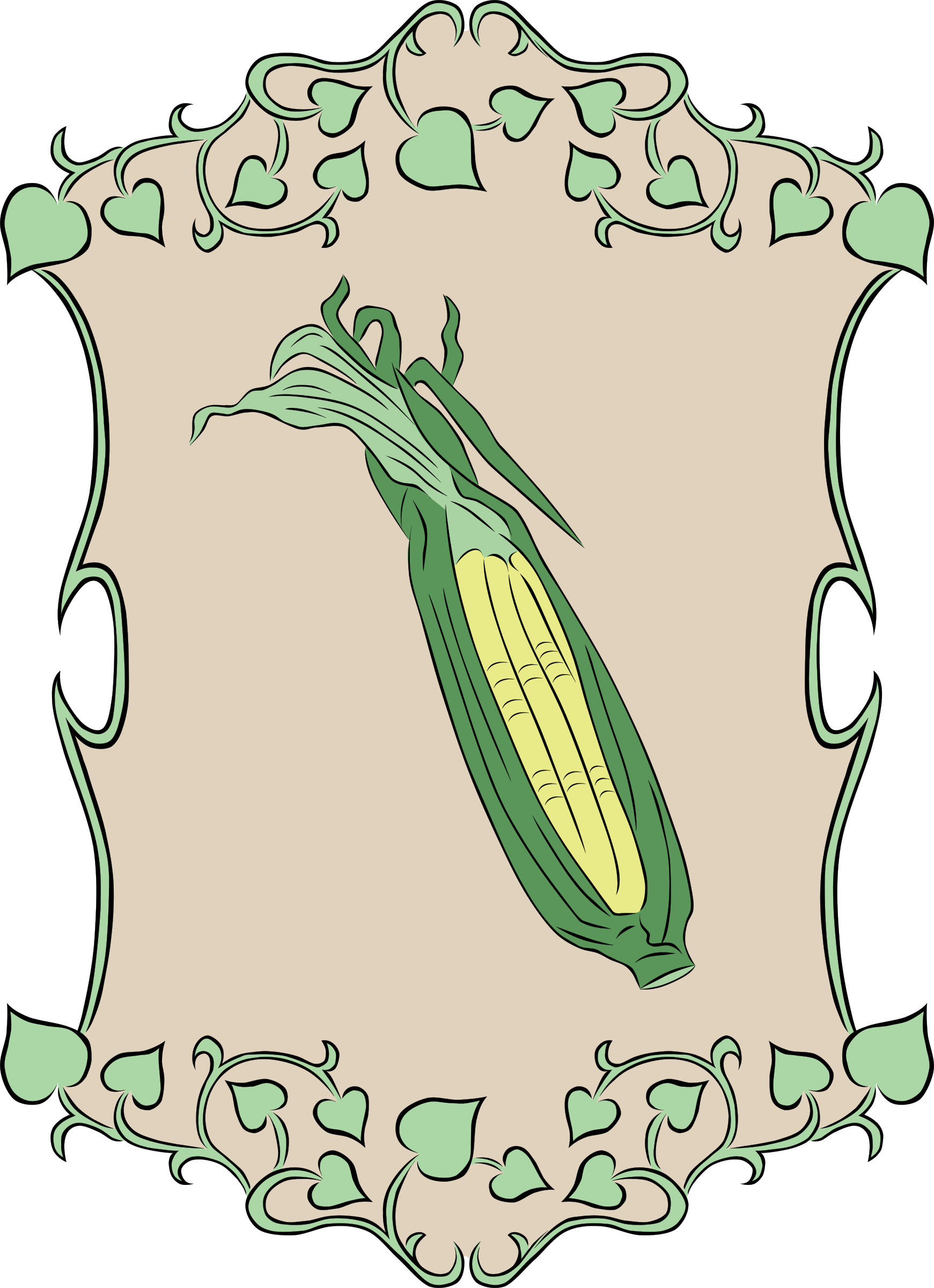 Garden Sign Corn by Gerald_G