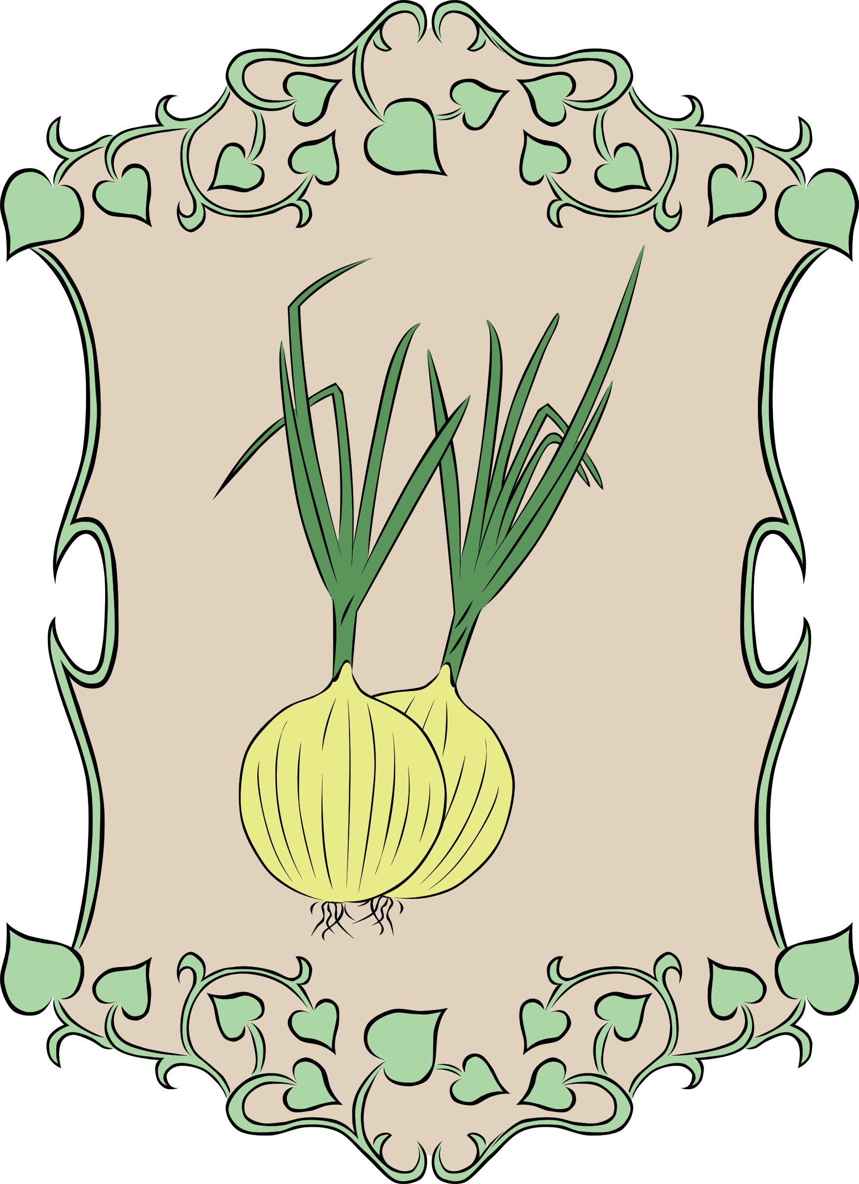 Garden Sign Onion by Gerald_G
