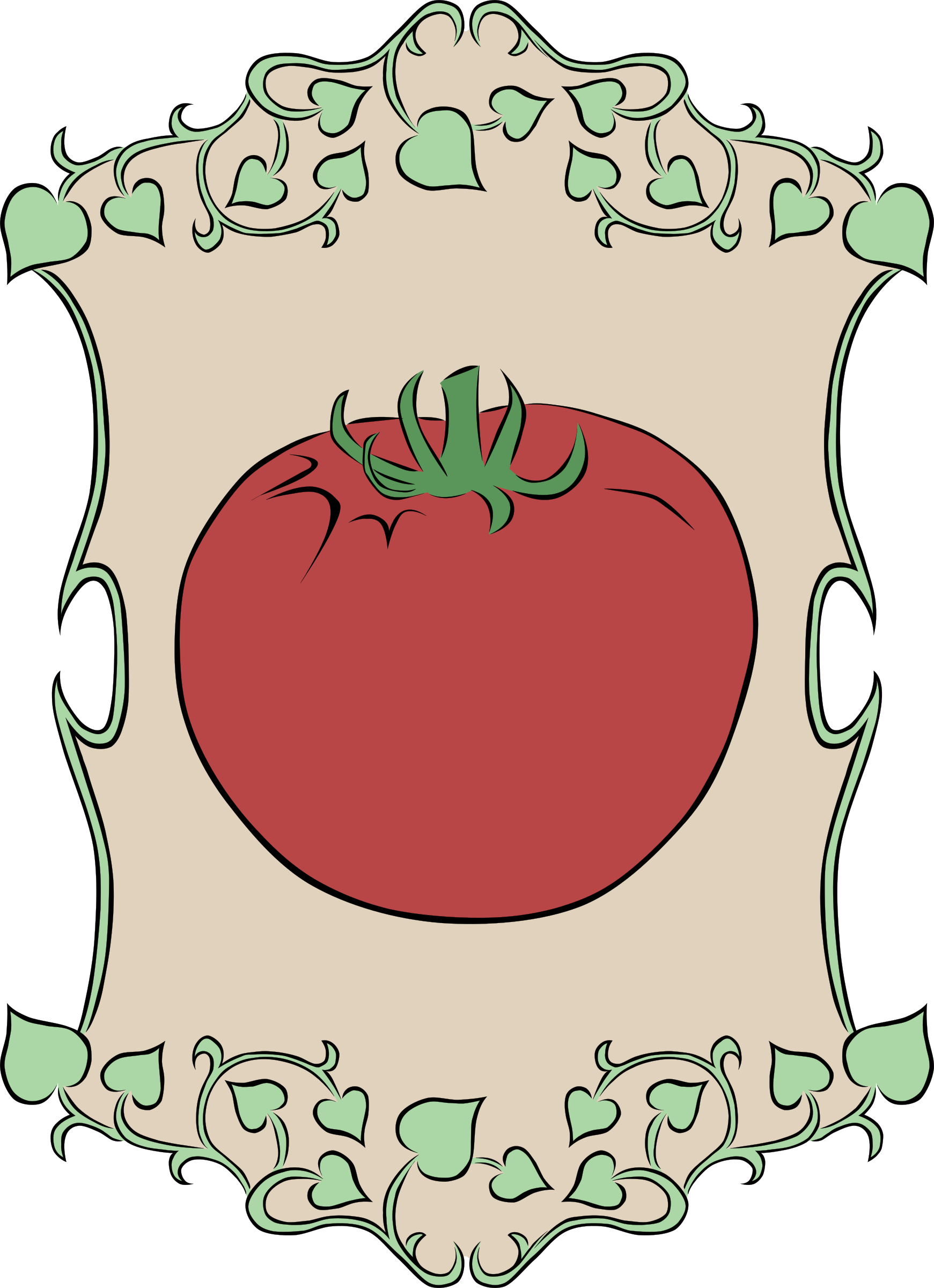 Garden Sign Tomato by Gerald_G