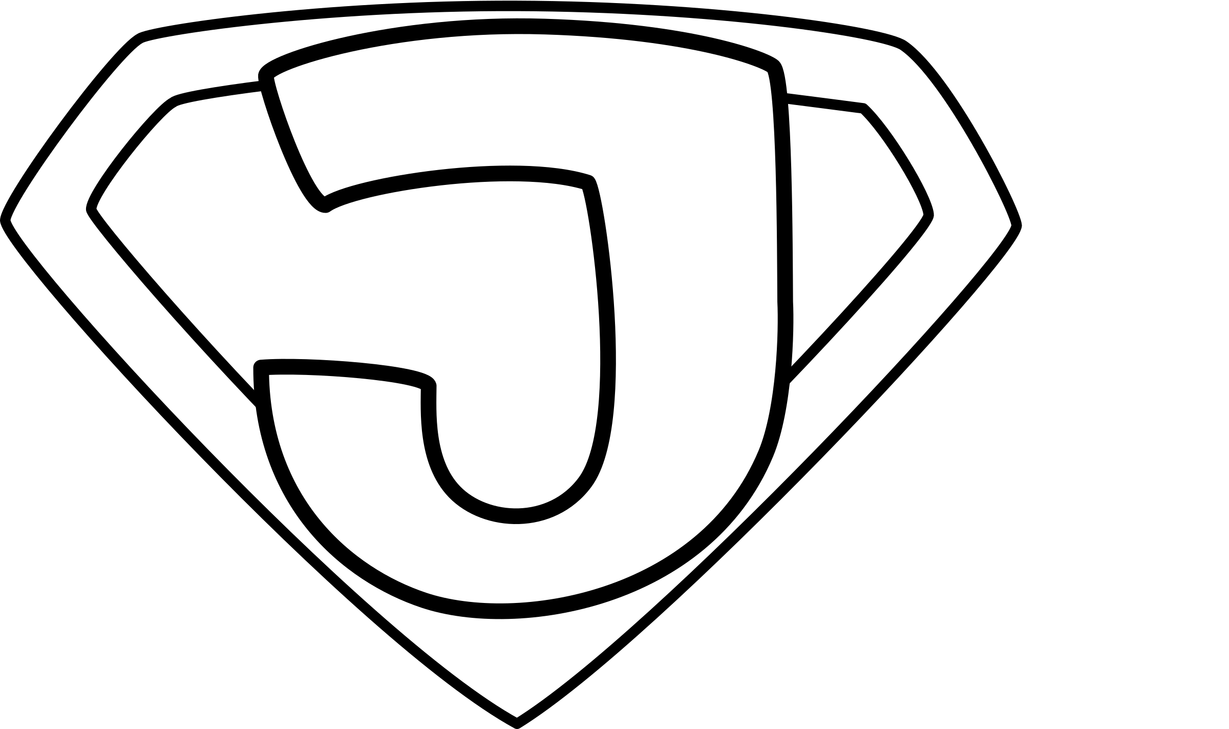 Super Jesus Enhanced Outline by rygle