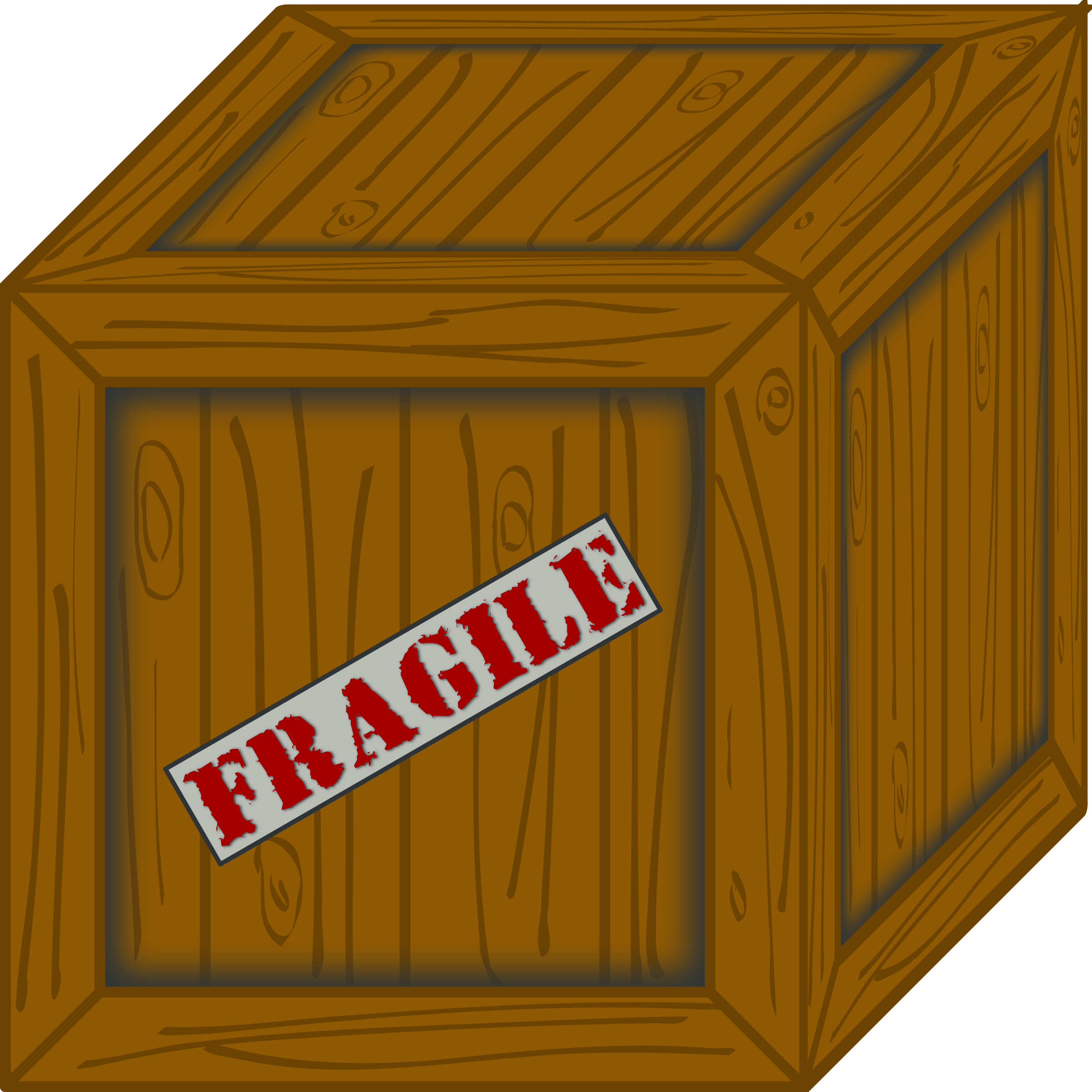wooden crate by Erulisseuiin
