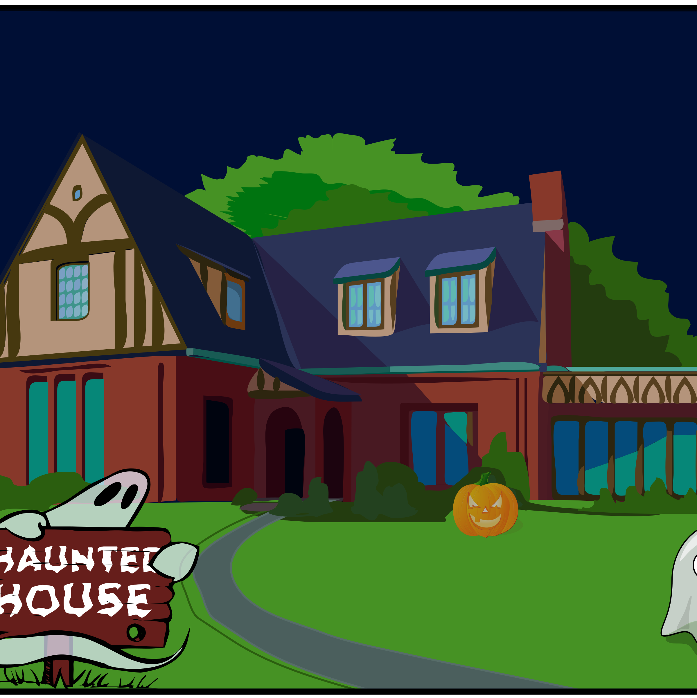 Haunted House by eady