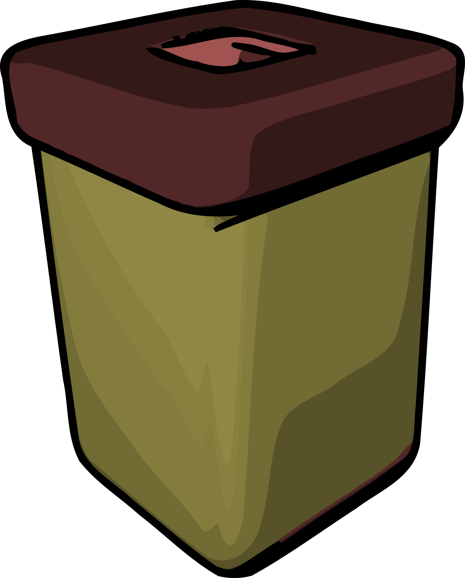 Trash Can by mazeo