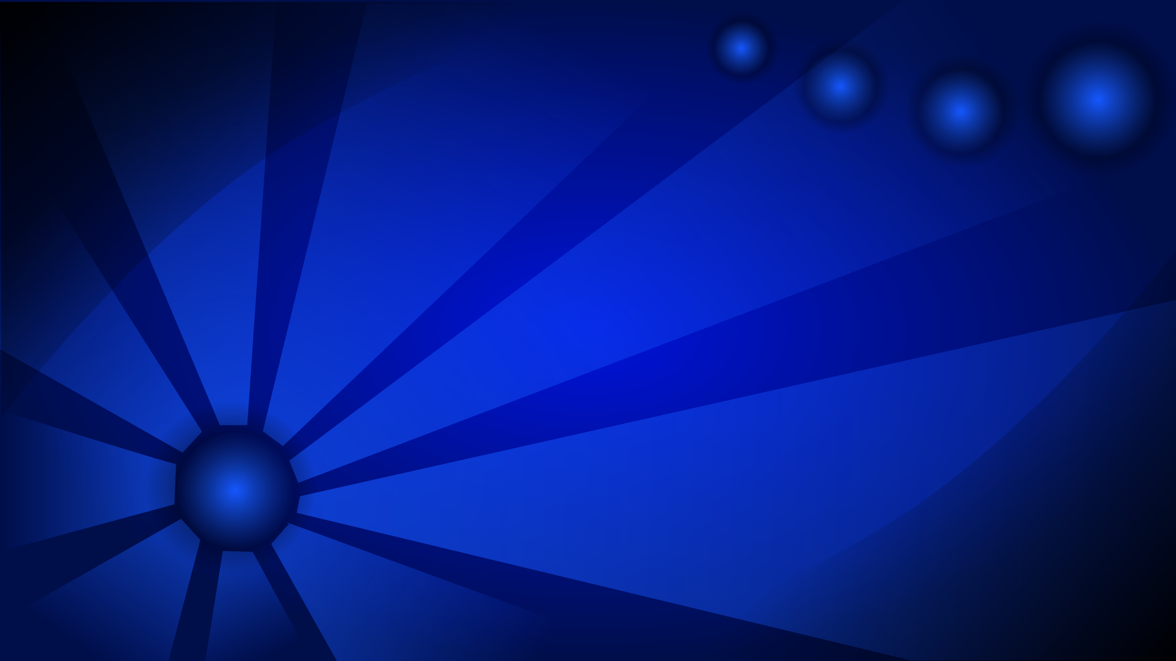 Blue Abstract Wallpaper by mystica