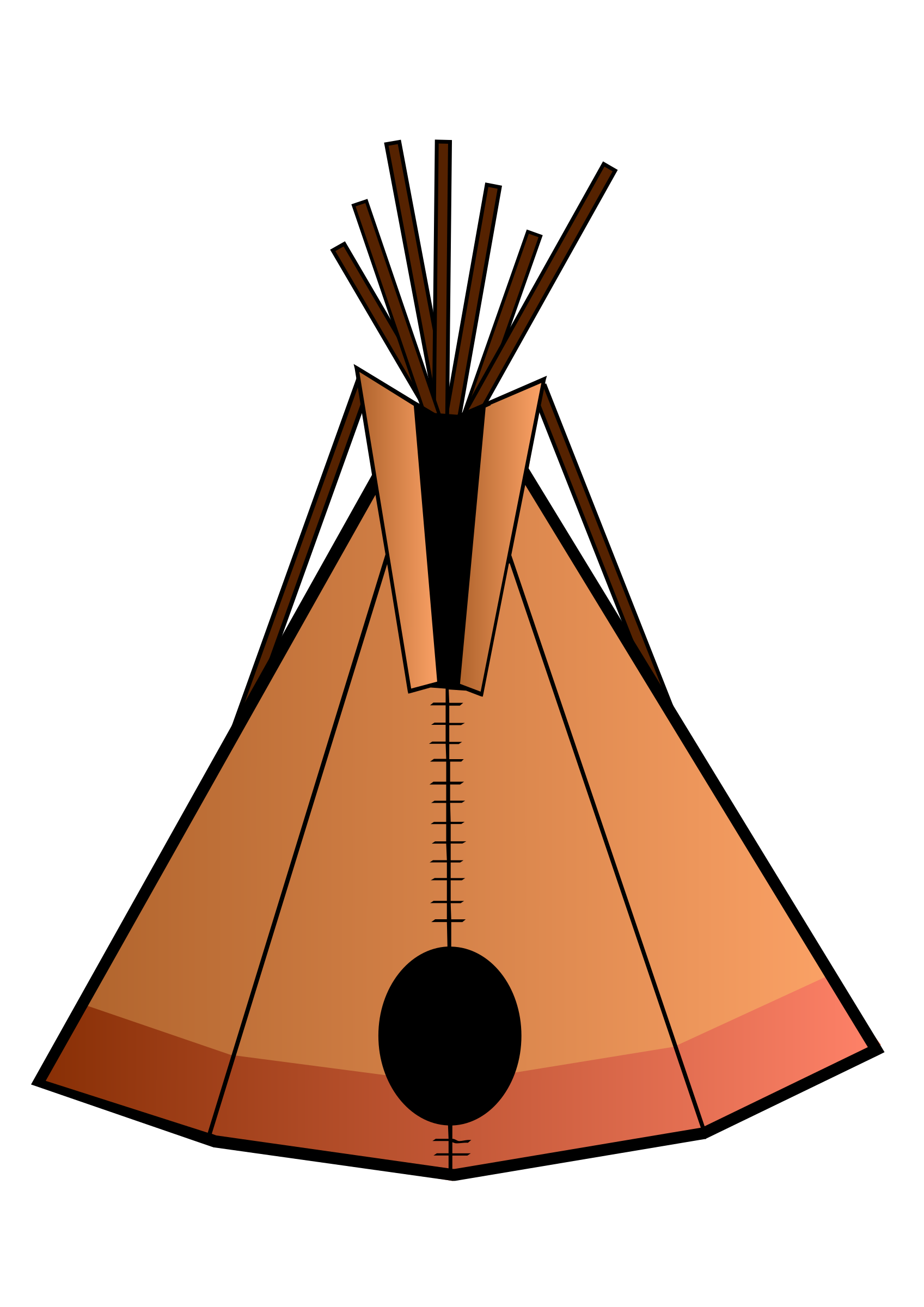 teepee by Jules