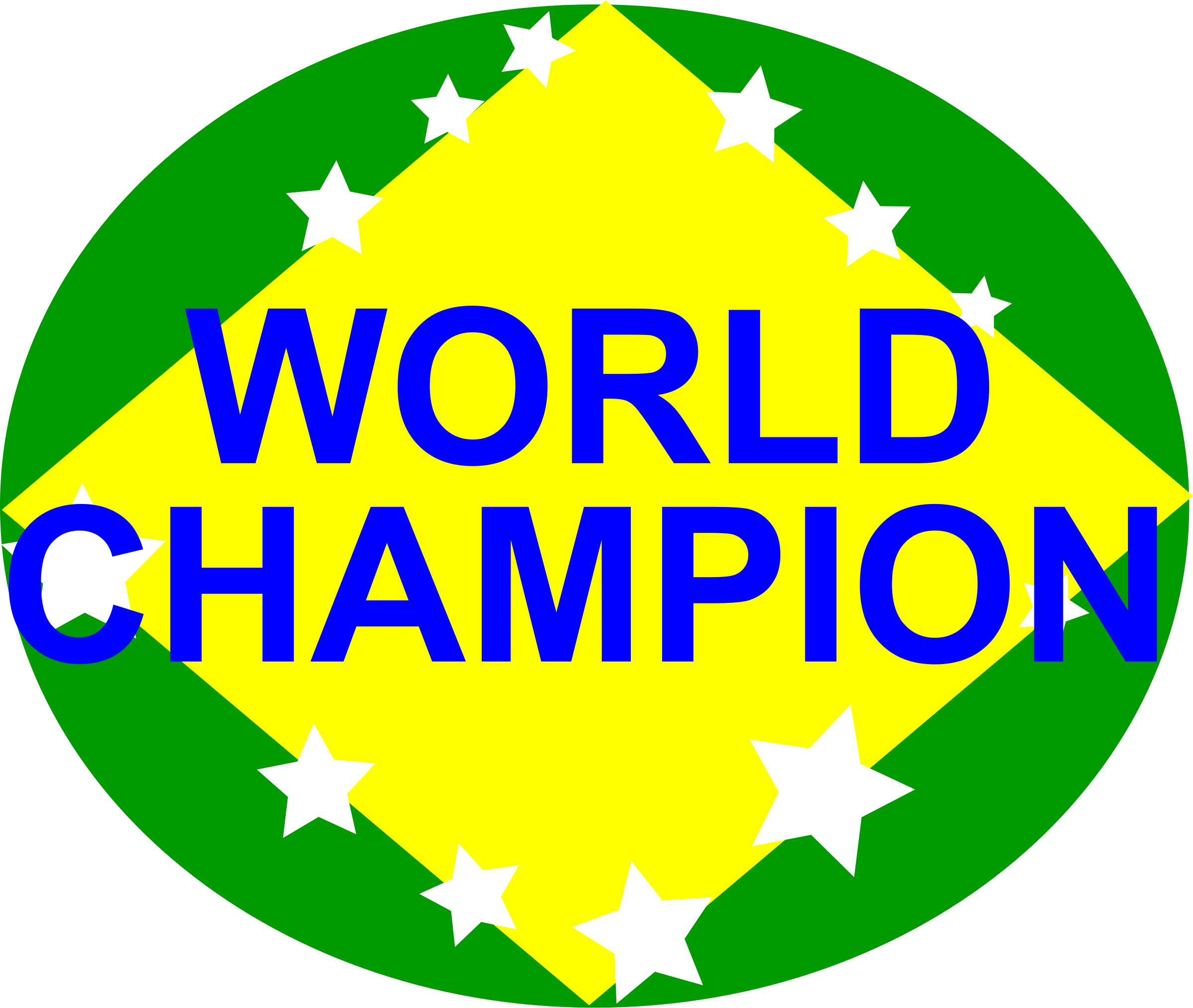 BRAZIL,WORLD CHAMPION by aungkarns