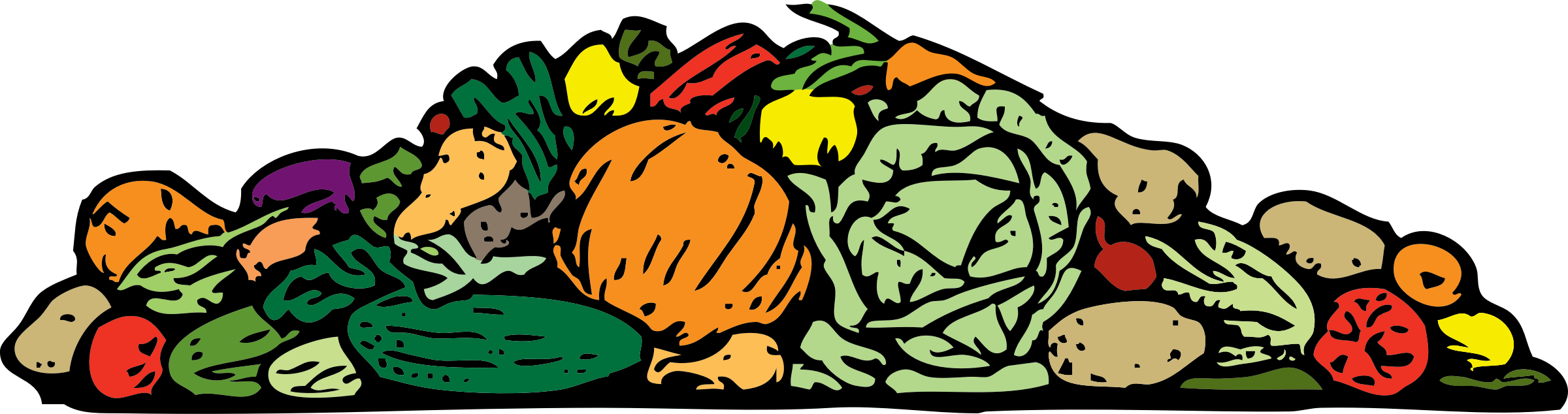 a pile of vegetables by johnny_automatic
