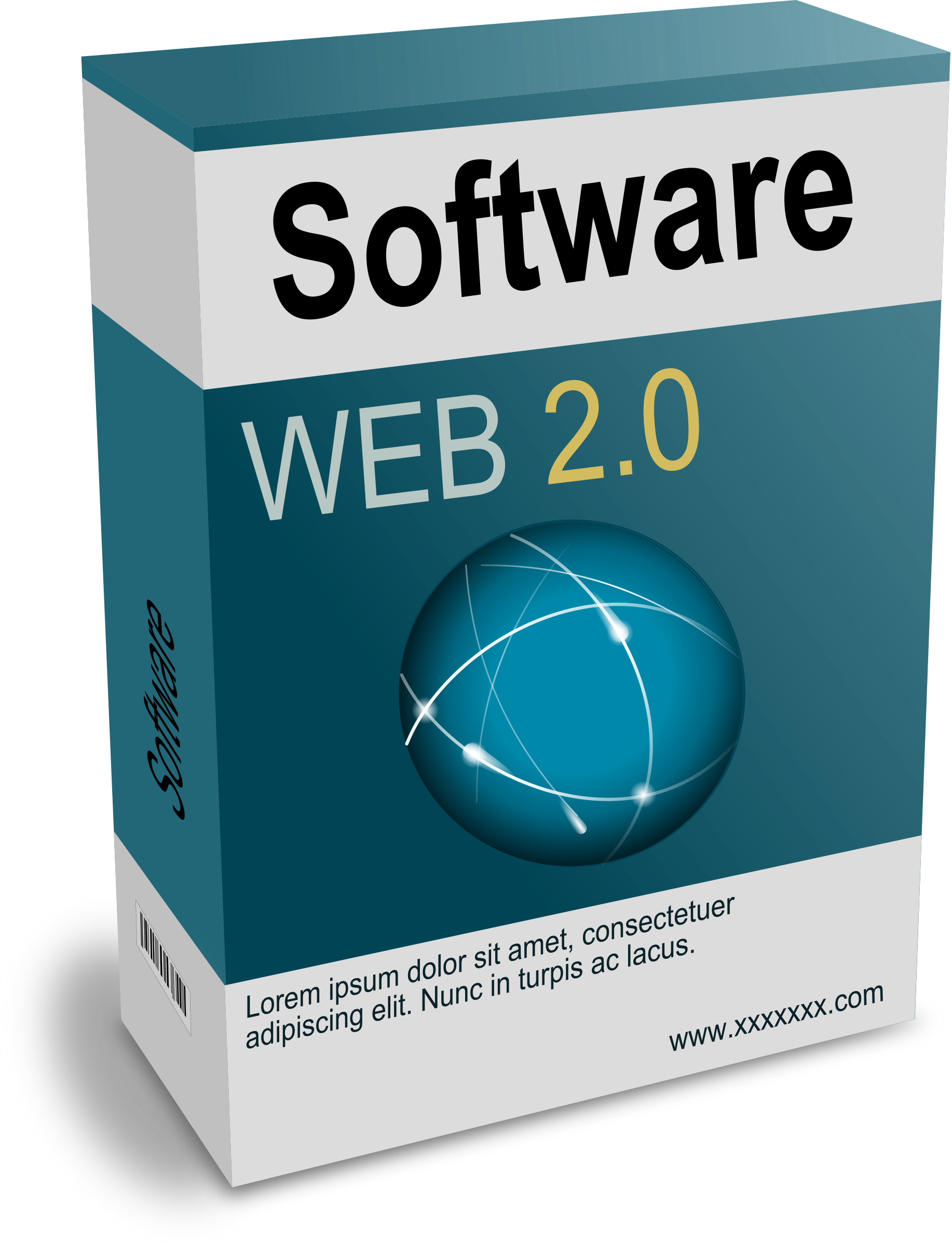 Software Carton Box Web 2.0 (remix) by palomaironique
