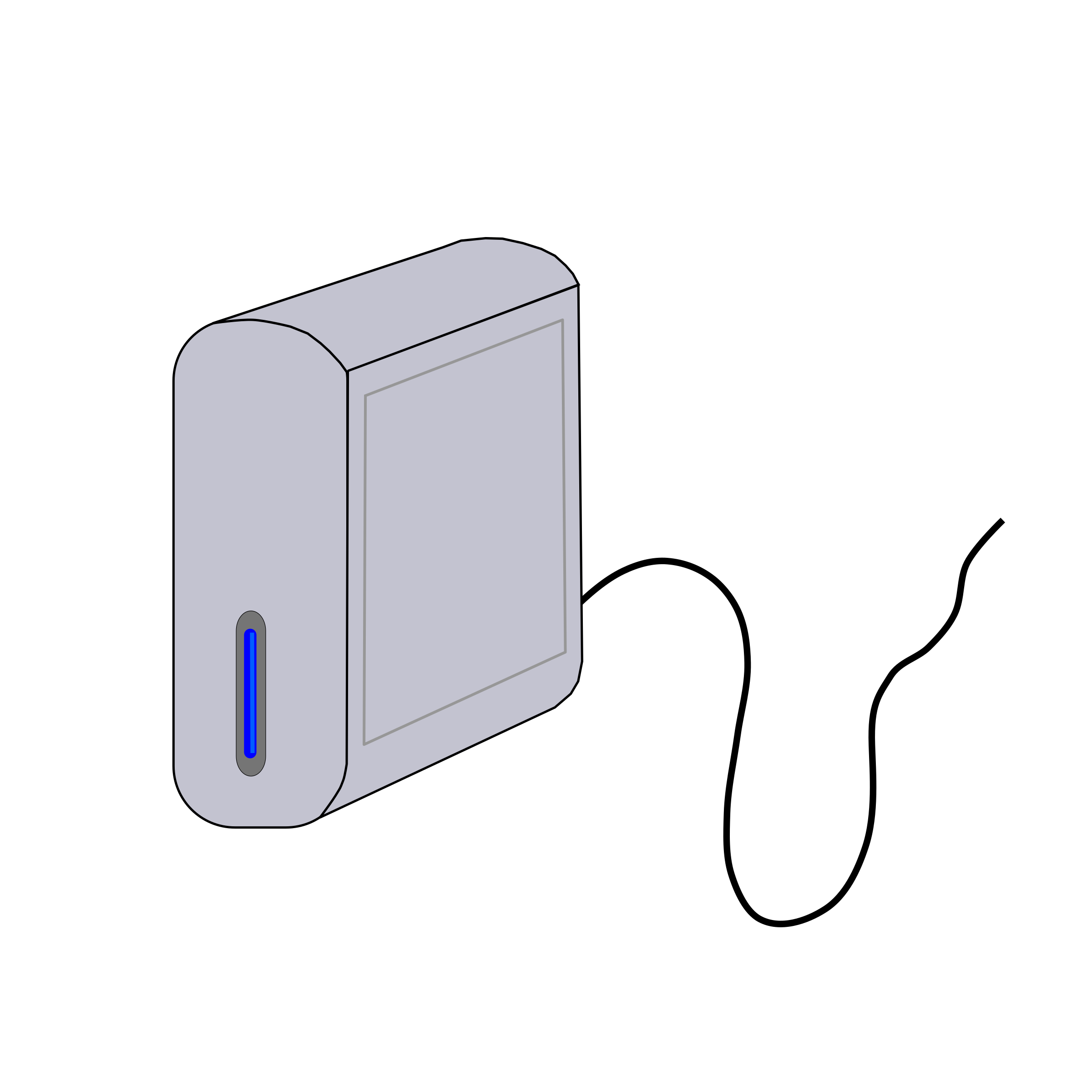 External Hard Drive by s9393